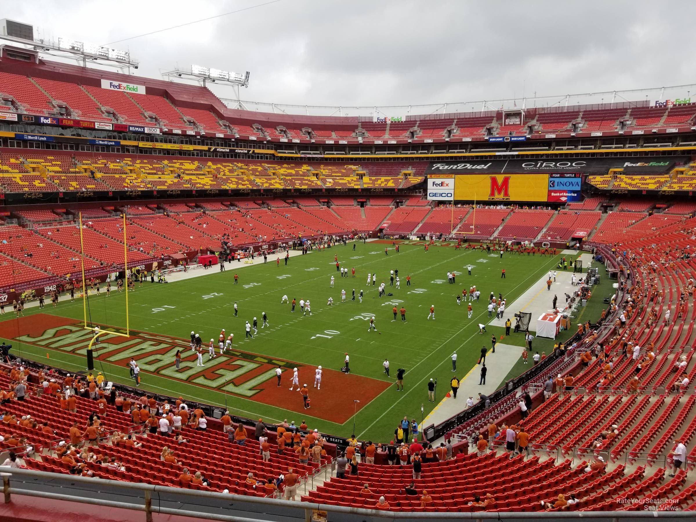 Zone D Club 329 seat view