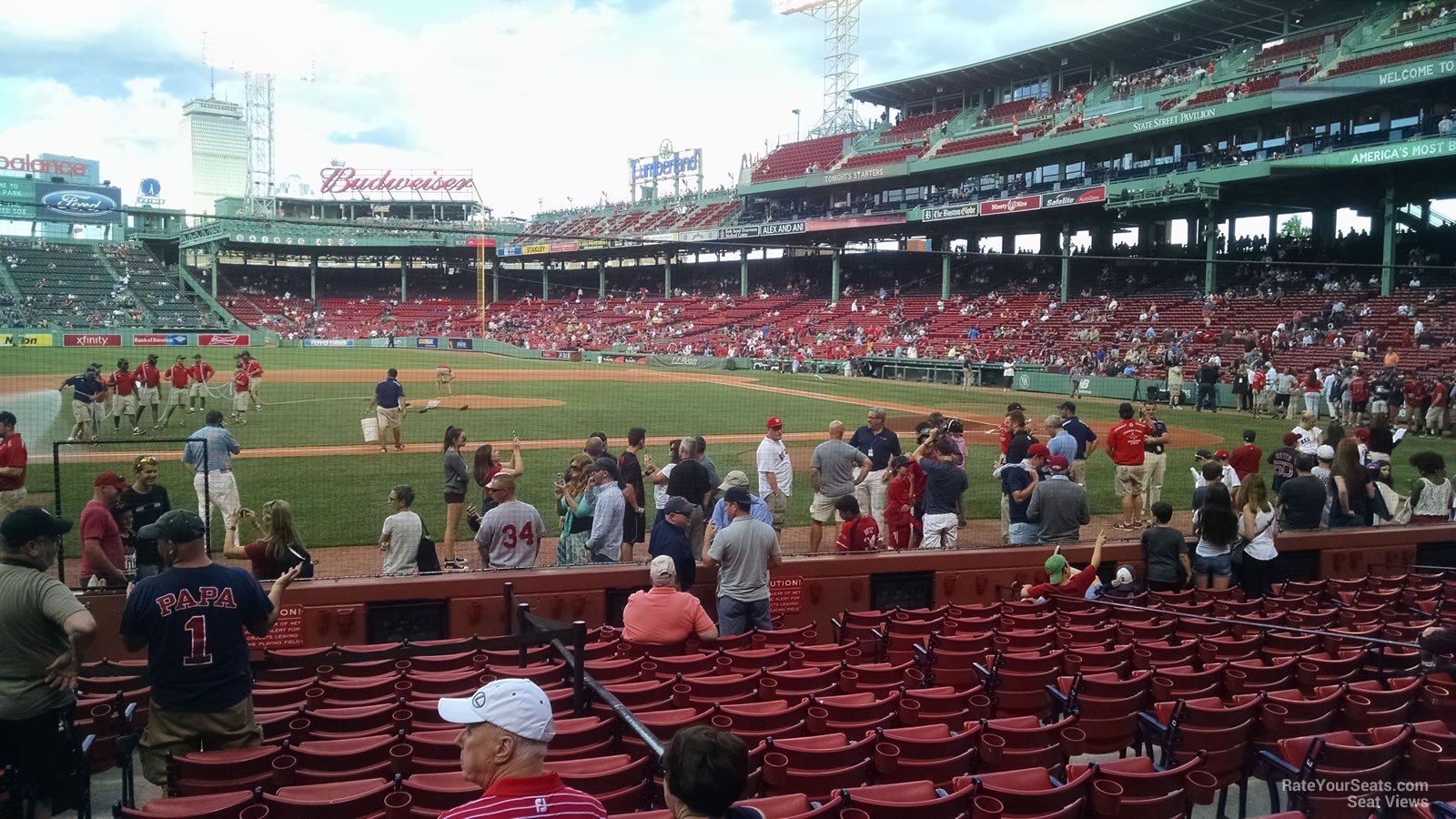 Seat View for Fenway Park Field Box 60