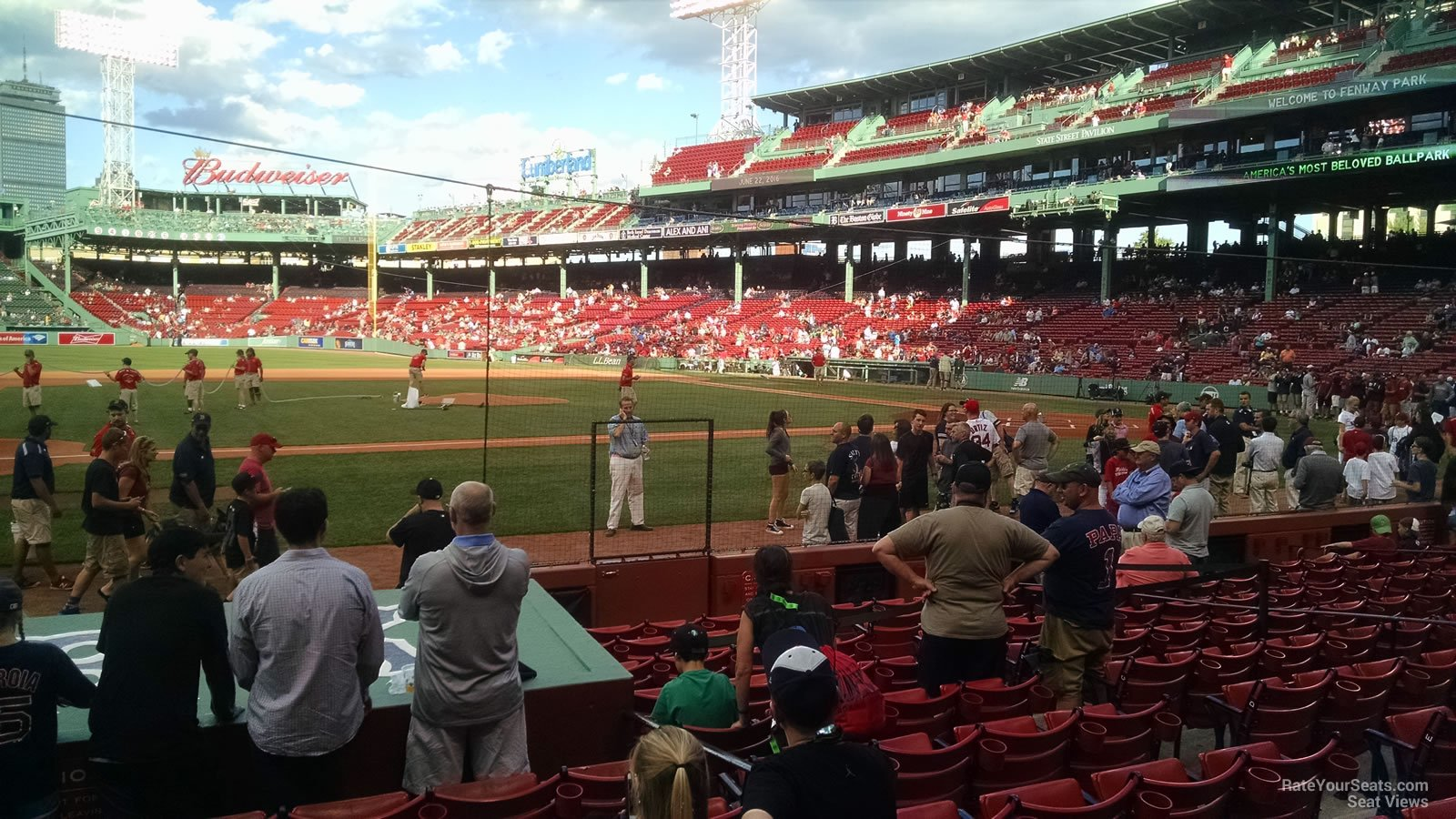 Seat View for Fenway Park Field Box 62