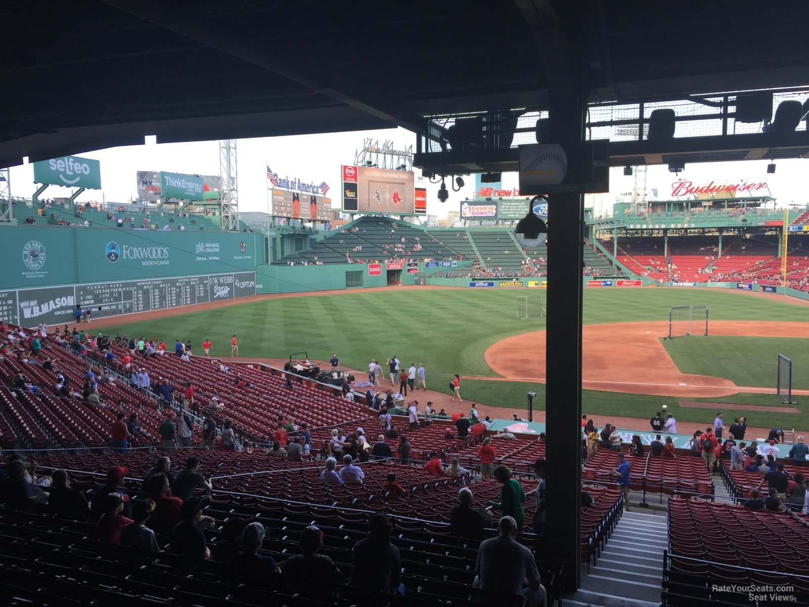 Seat View For Fenway Park Grandstand 26