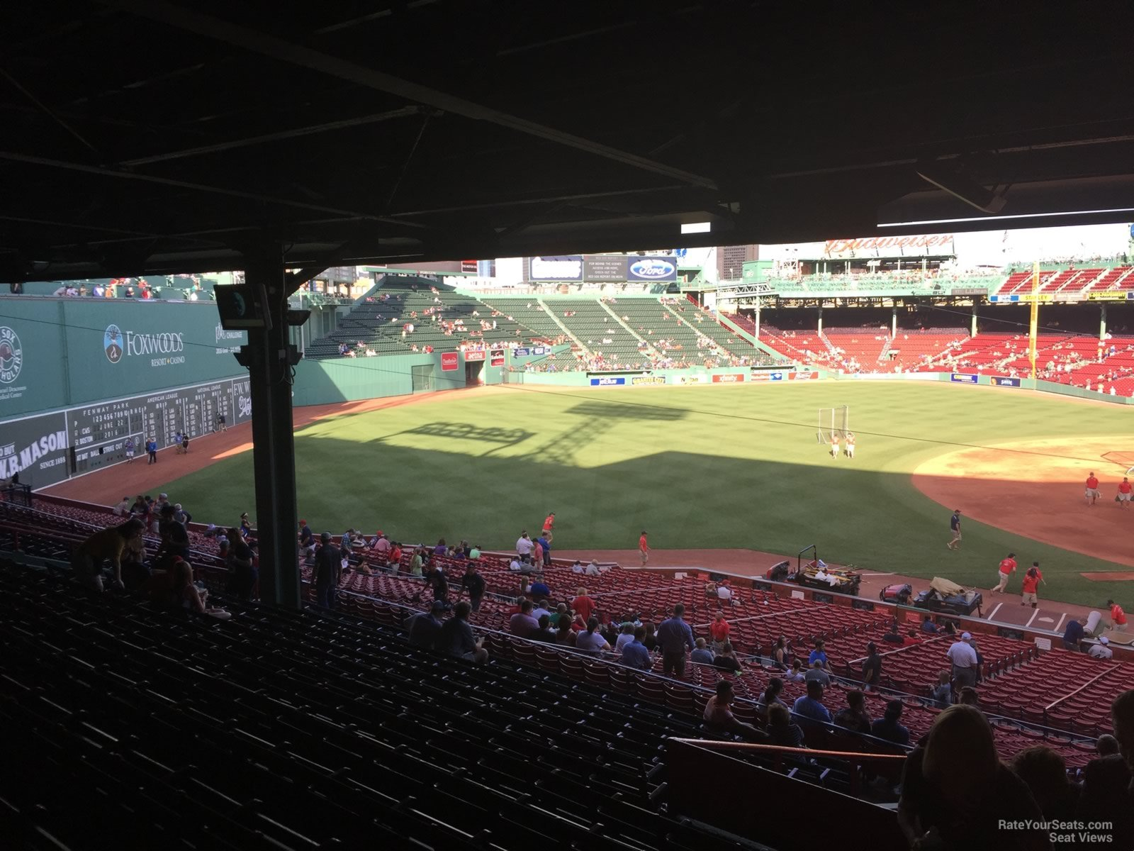 Seat View For Fenway Park Grandstand 29