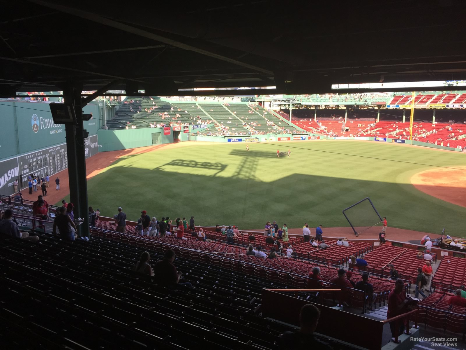 Seat View For Fenway Park Grandstand 30