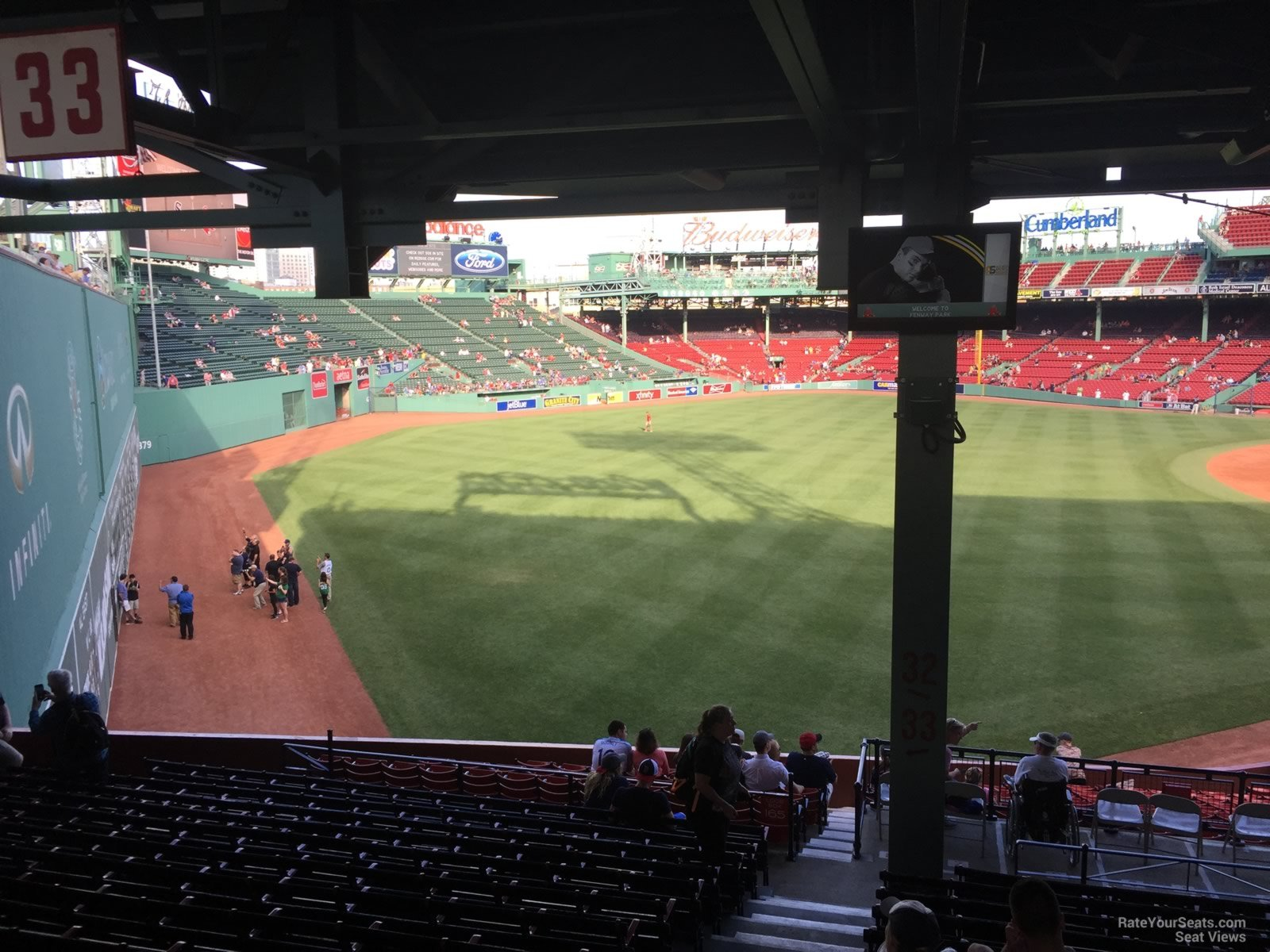 Seat View For Fenway Park Grandstand 32