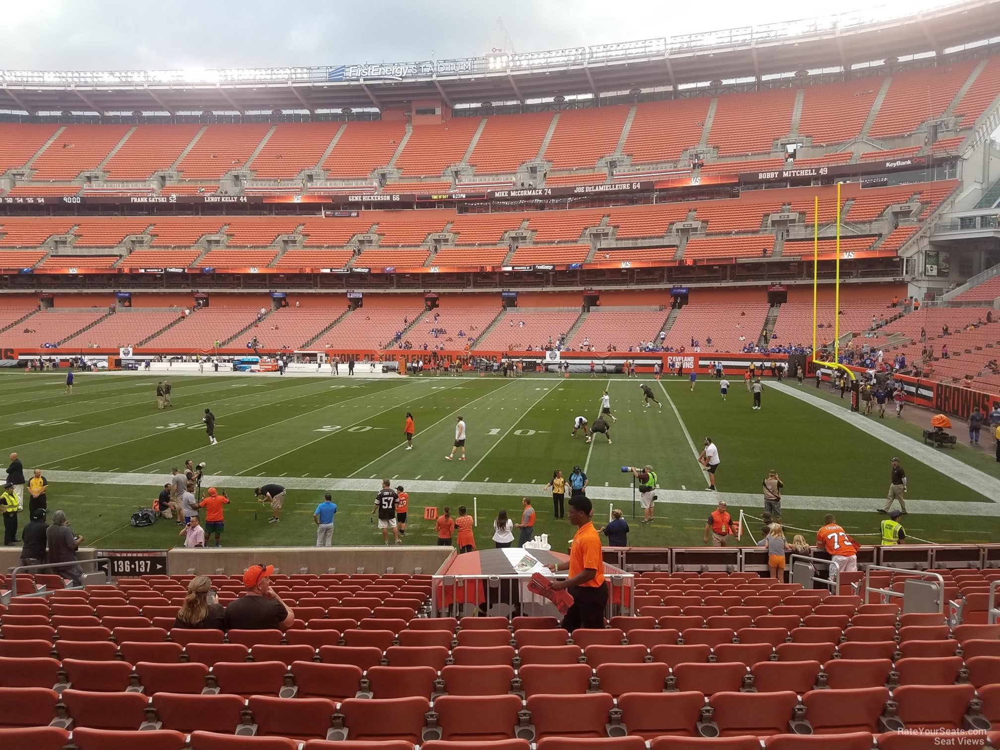 First Energy Stadium Section 137 - RateYourSeats.com on