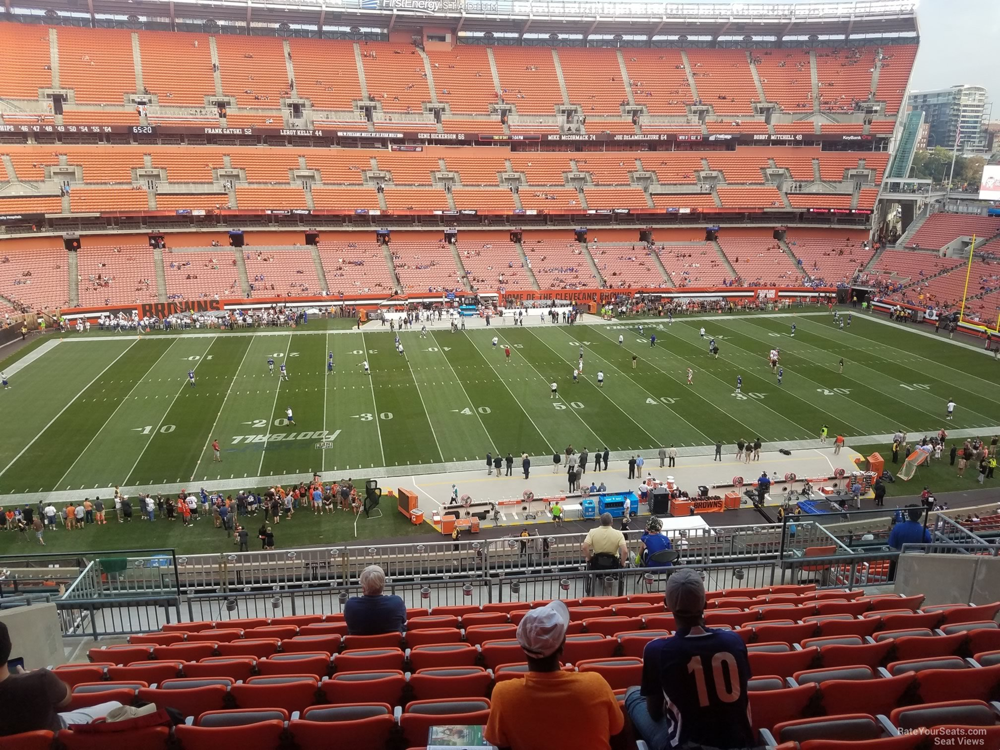 Seat View for First Energy Stadium Section 332, ...