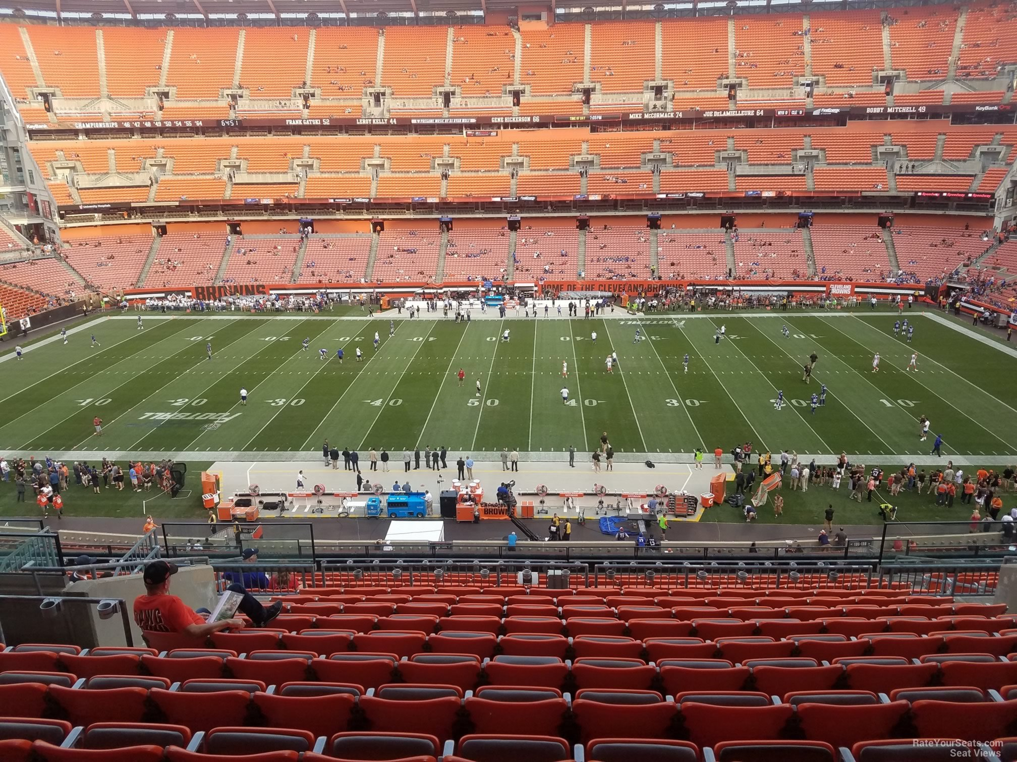 Seat View for First Energy Stadium Section 334, ...