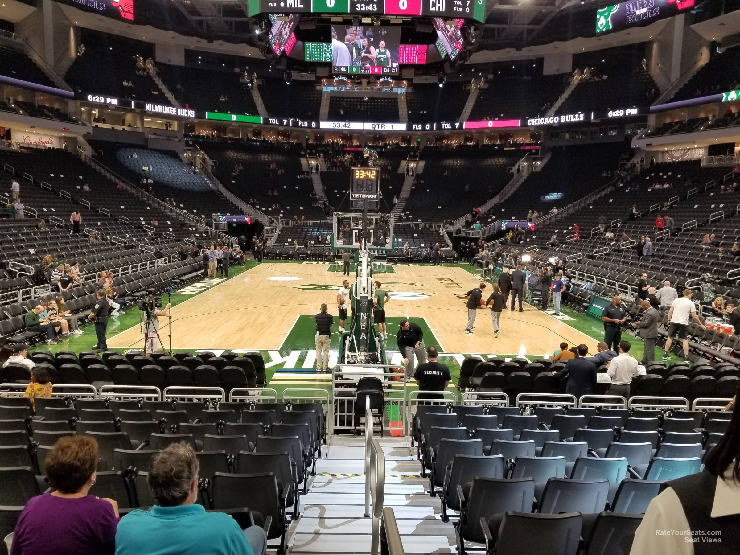 Section 122 seat view