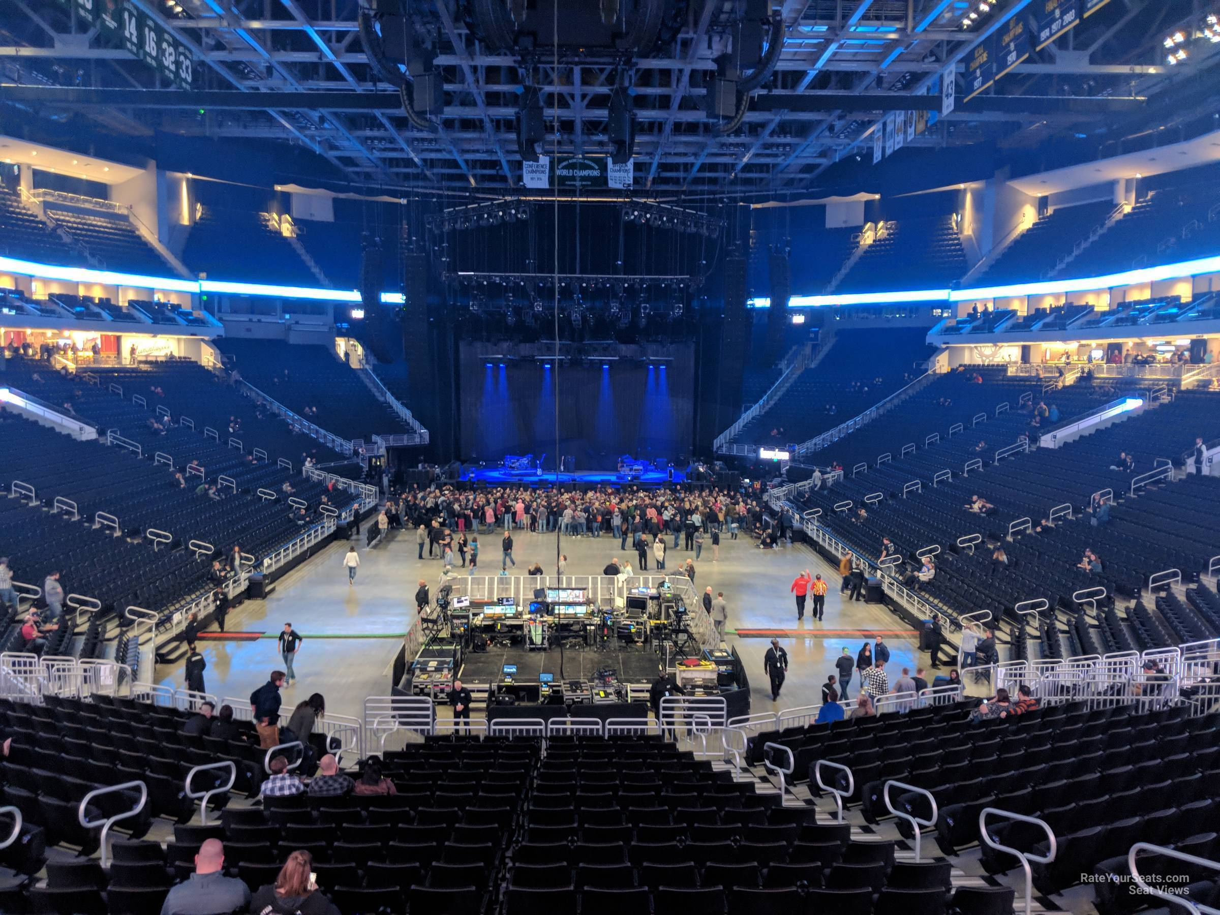 Fiserv Forum Section 101 Concert Seating - RateYourSeats.com