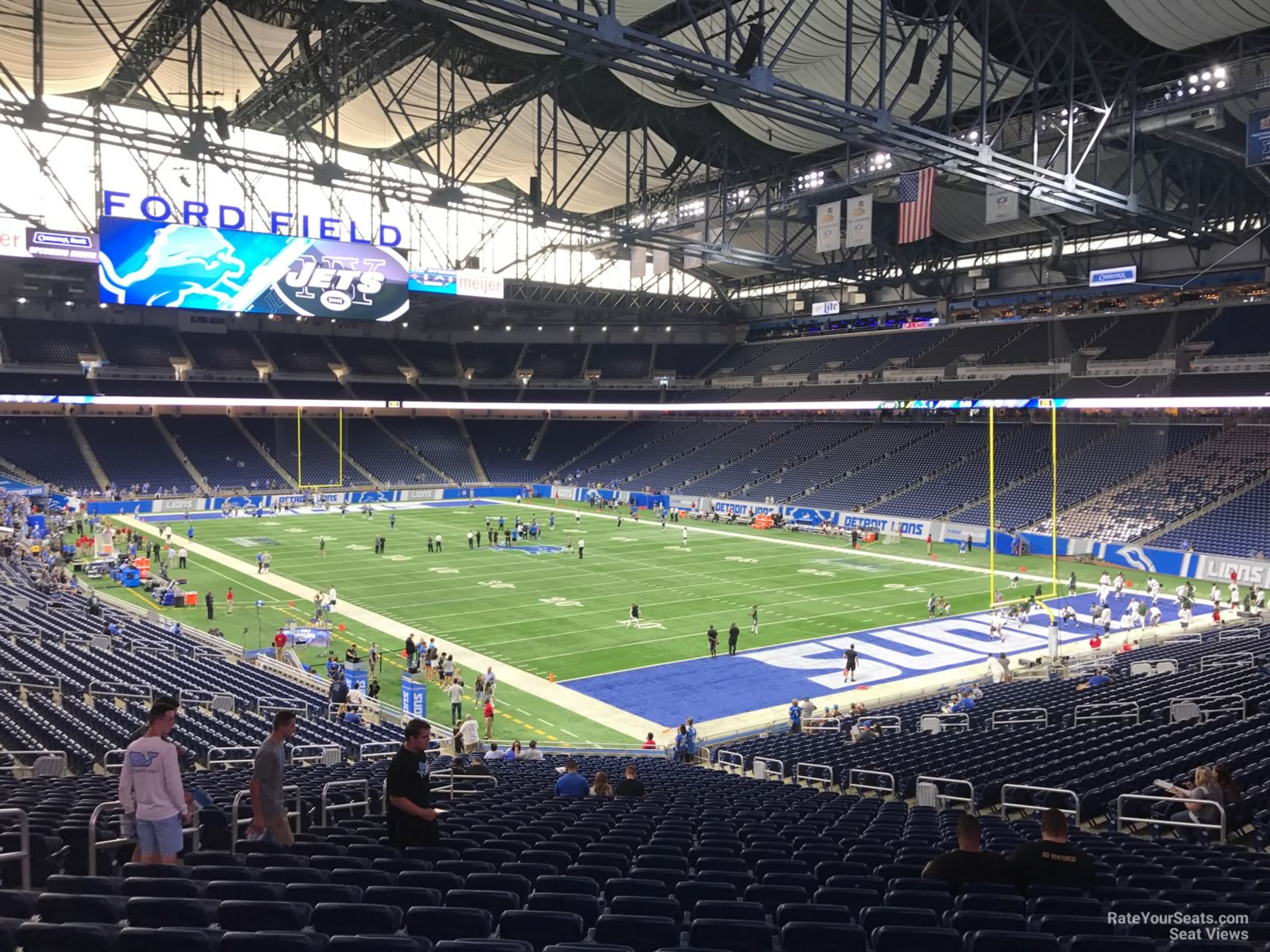 Seat View For Ford Field Section 113