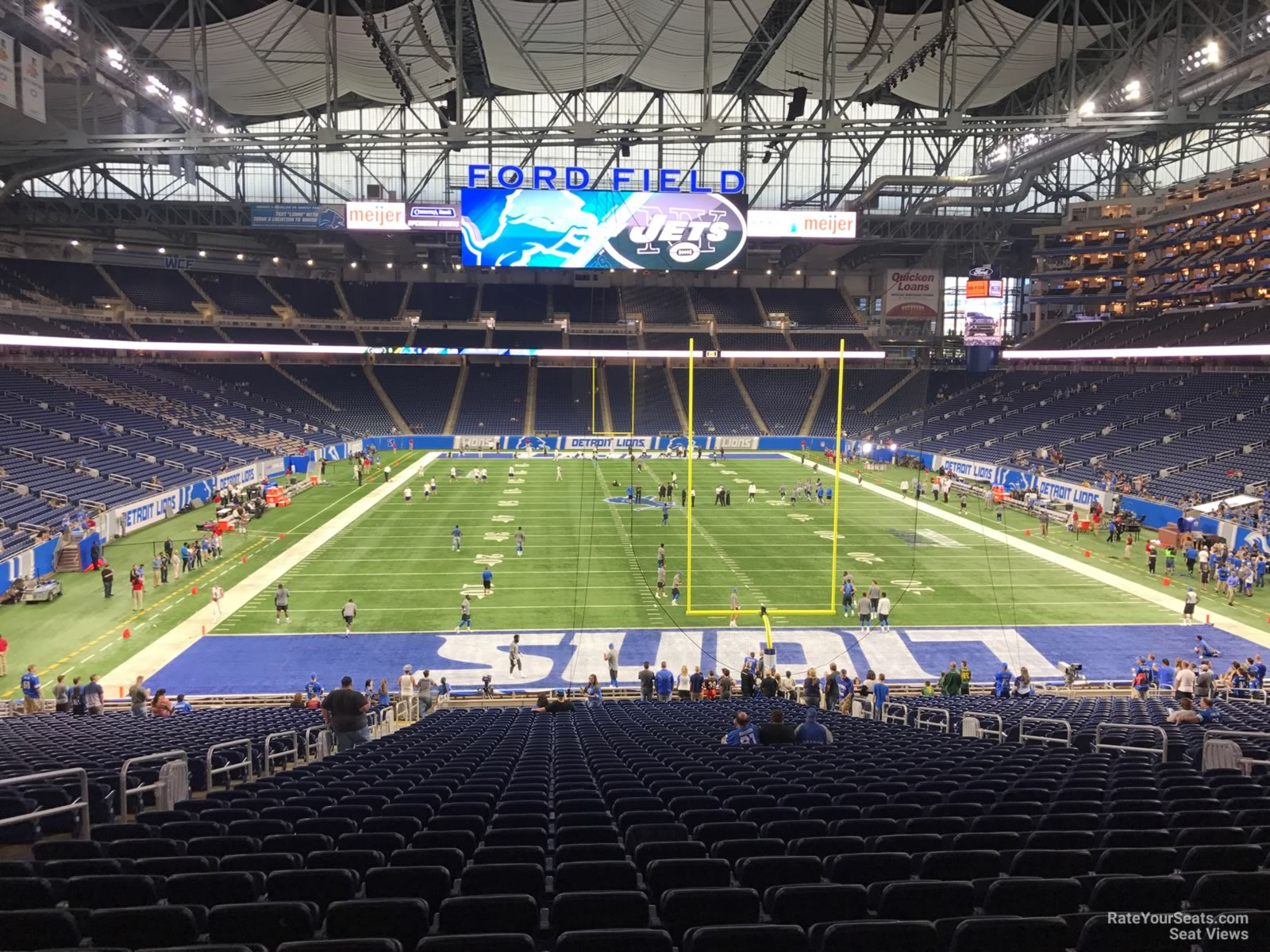 Nice Ford Field Section 137 Detroit Lions