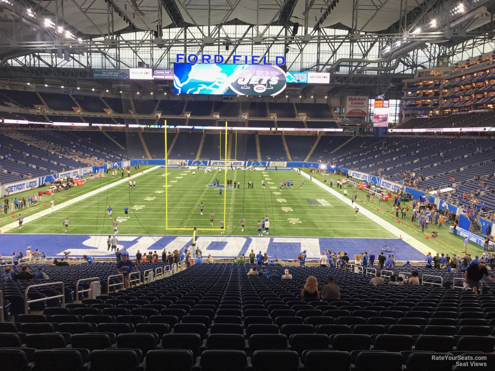 Section 138 seat view