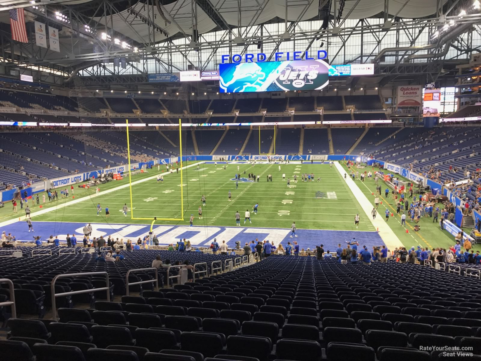 Section 139 seat view