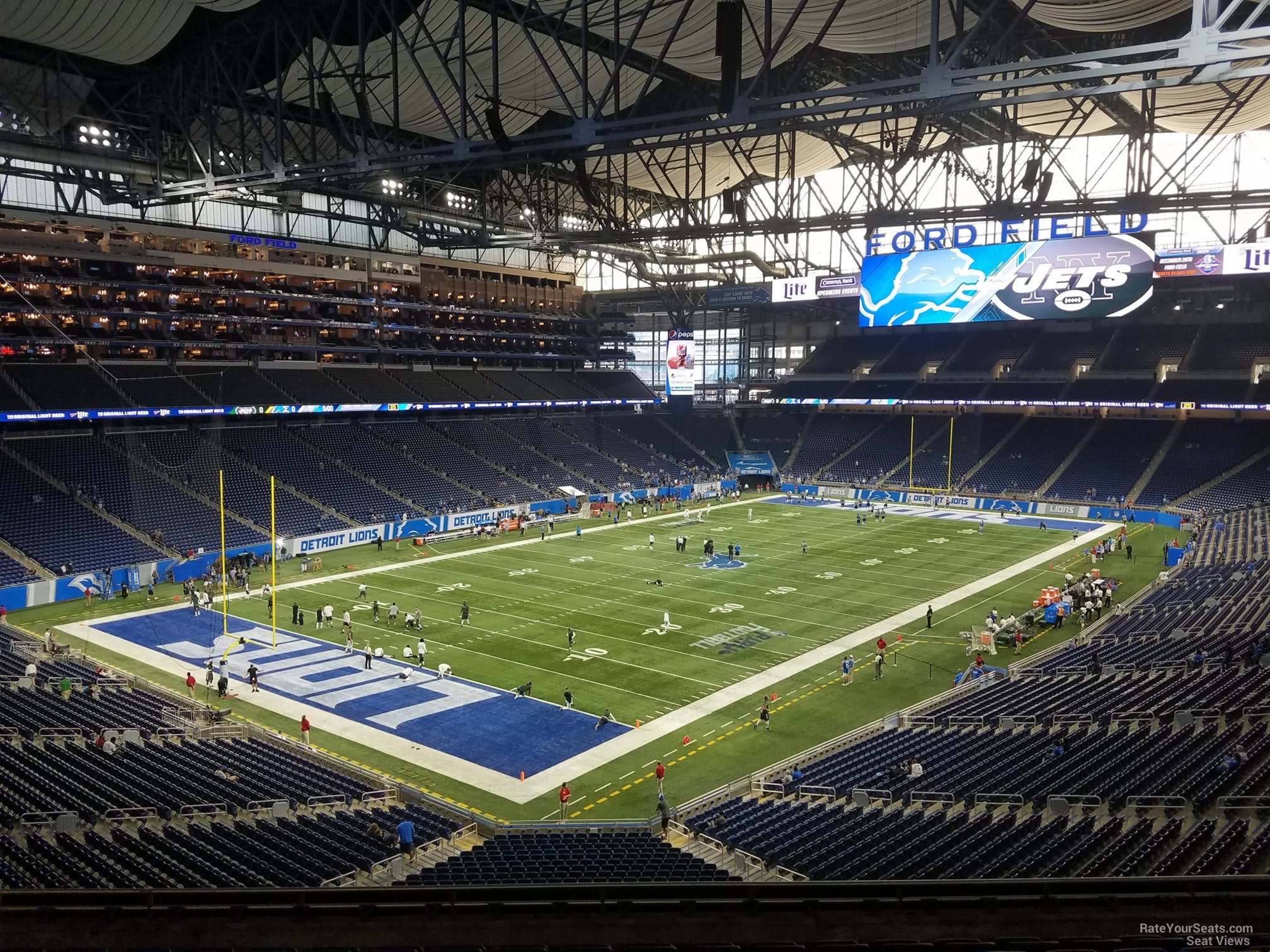 Ford Field Section 223 Detroit Lions Rateyourseats Com