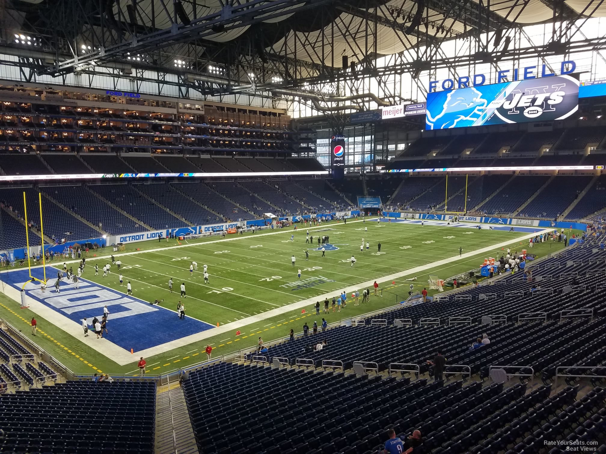 Ford Field Section 224 - Detroit Lions - RateYourSeats.com