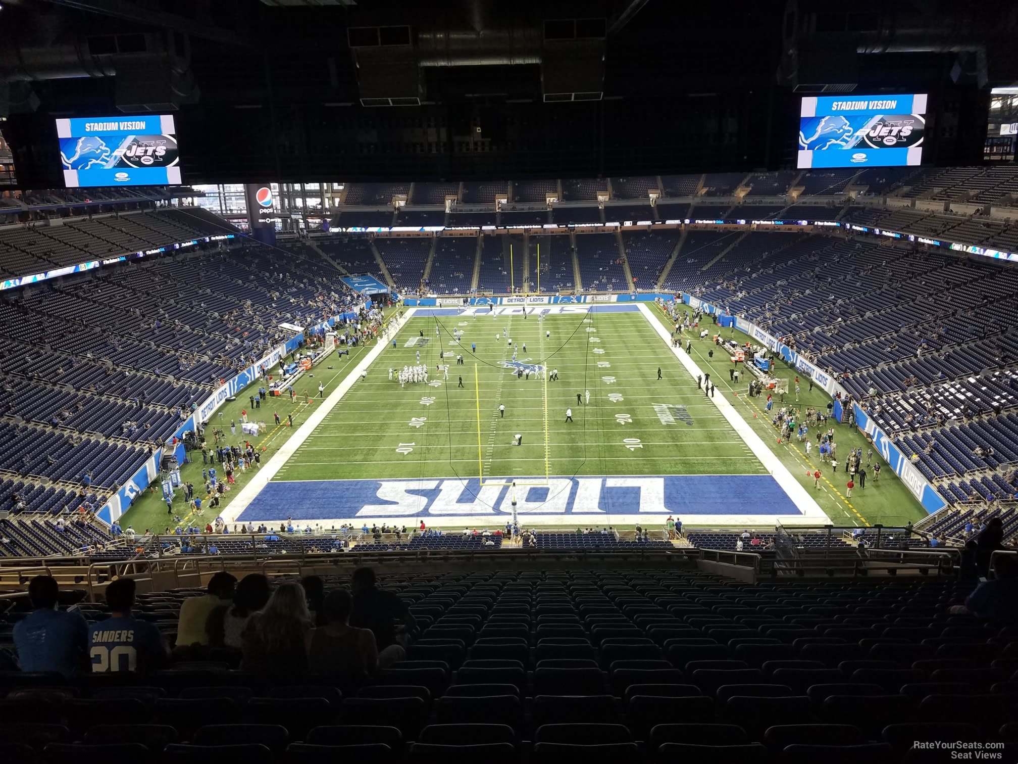 Seat View For Ford Field Section 318