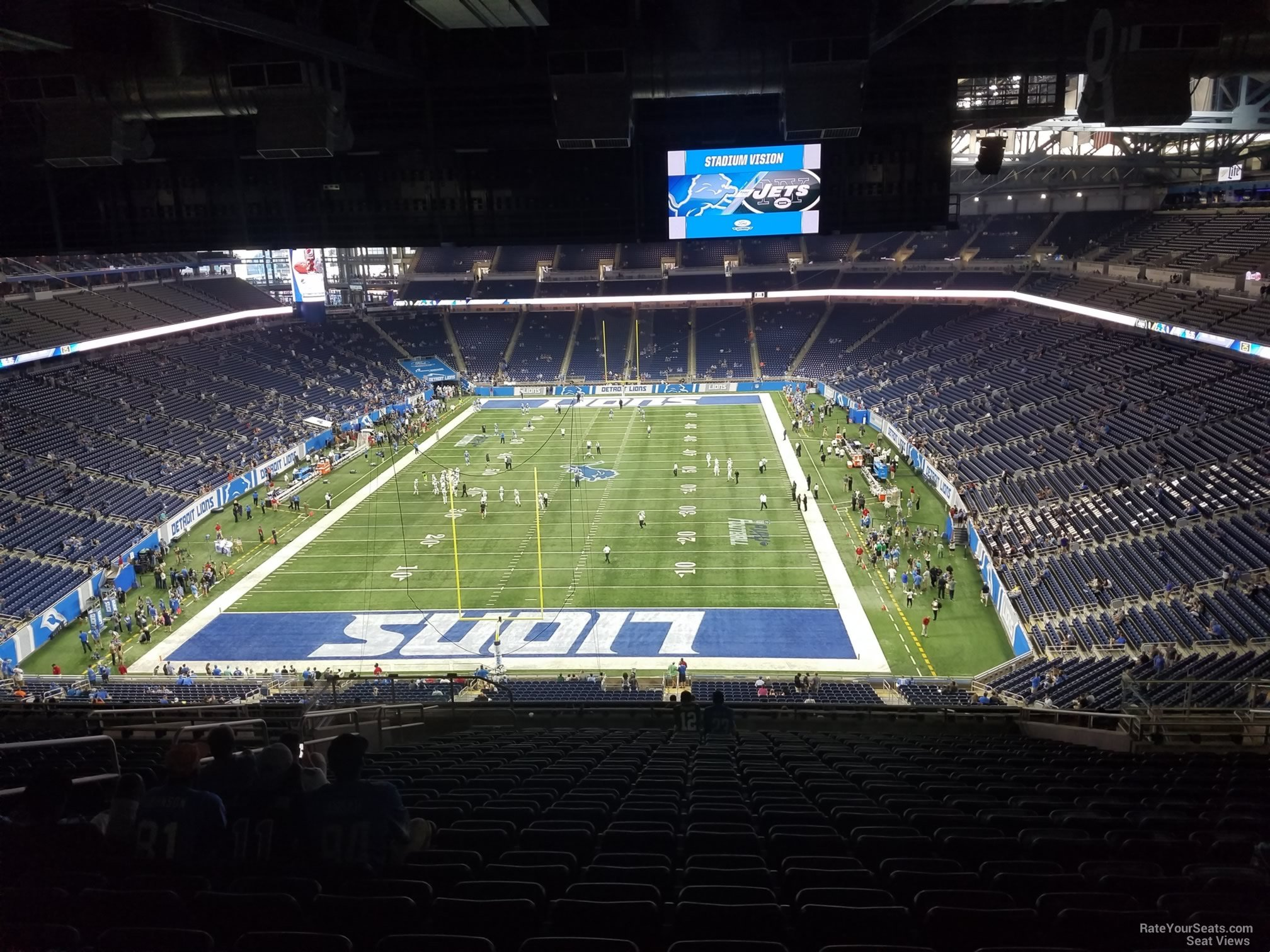 Ford Field Section 319 Detroit Lions Rateyourseats. Seat View For Ford Field Section 319 Row 19. Ford. How Many Seats Per Row Ford Field Seating Diagram At Scoala.co