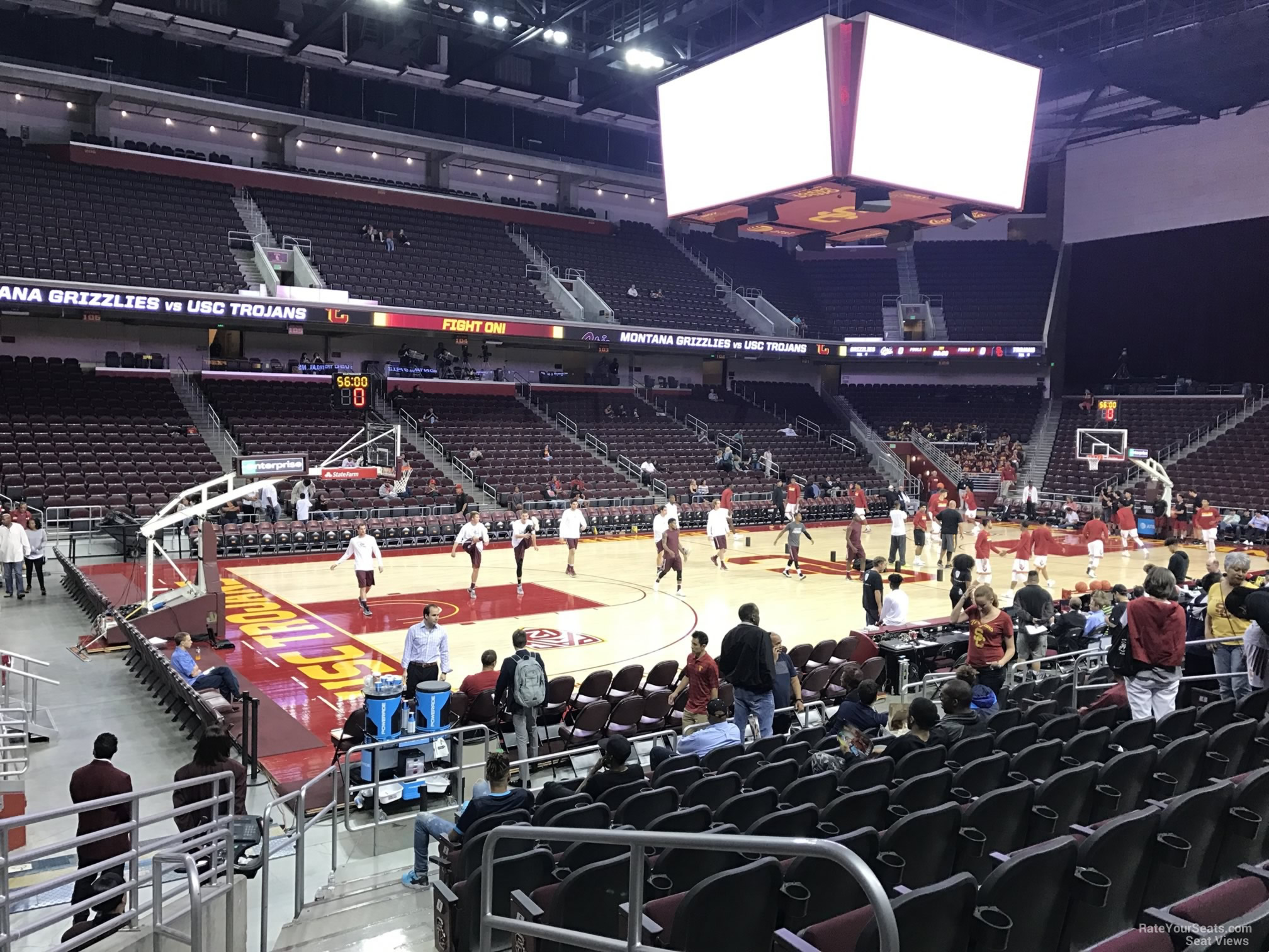 Galen Center Section 113