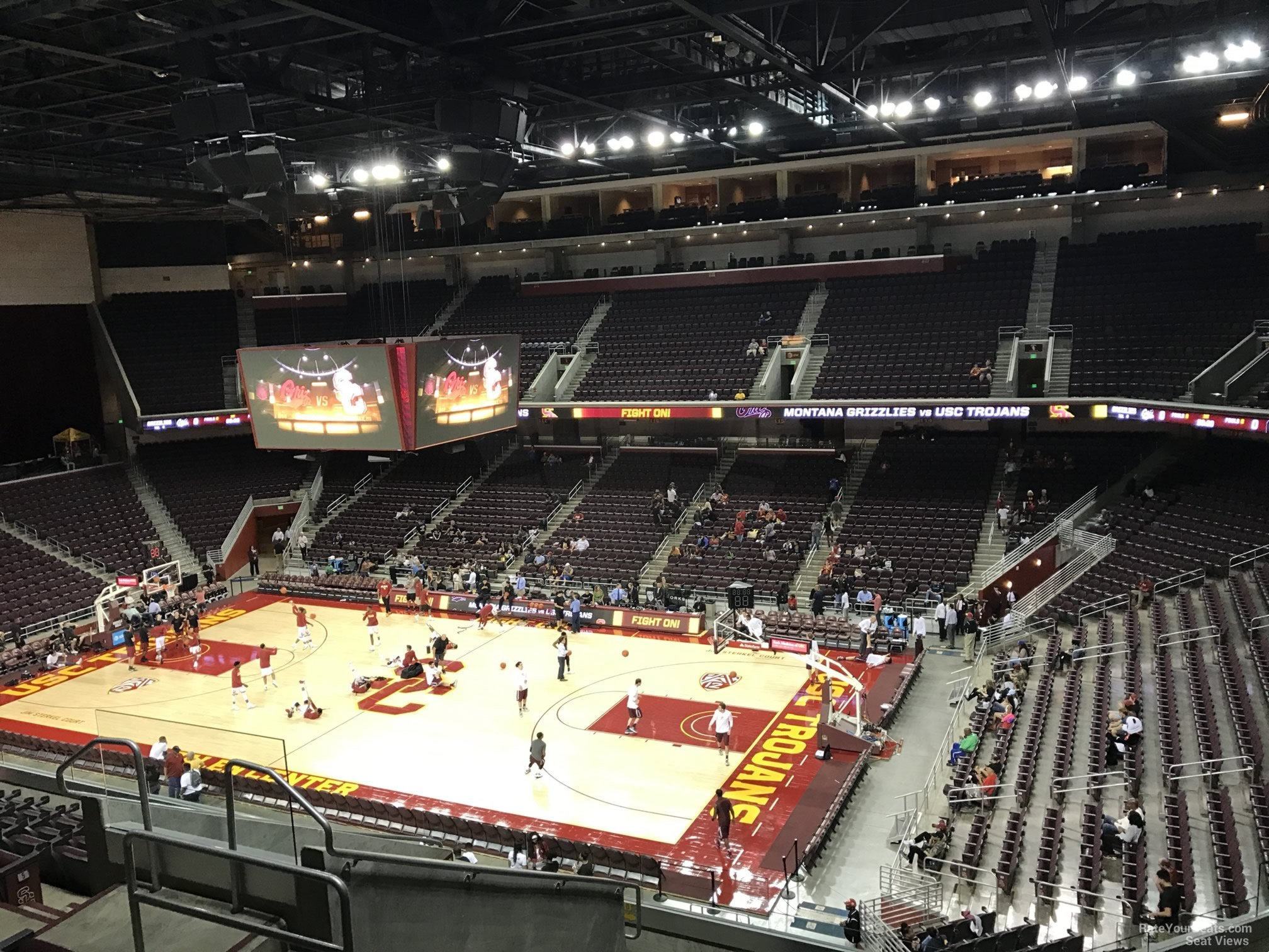 Galen Center Section 207