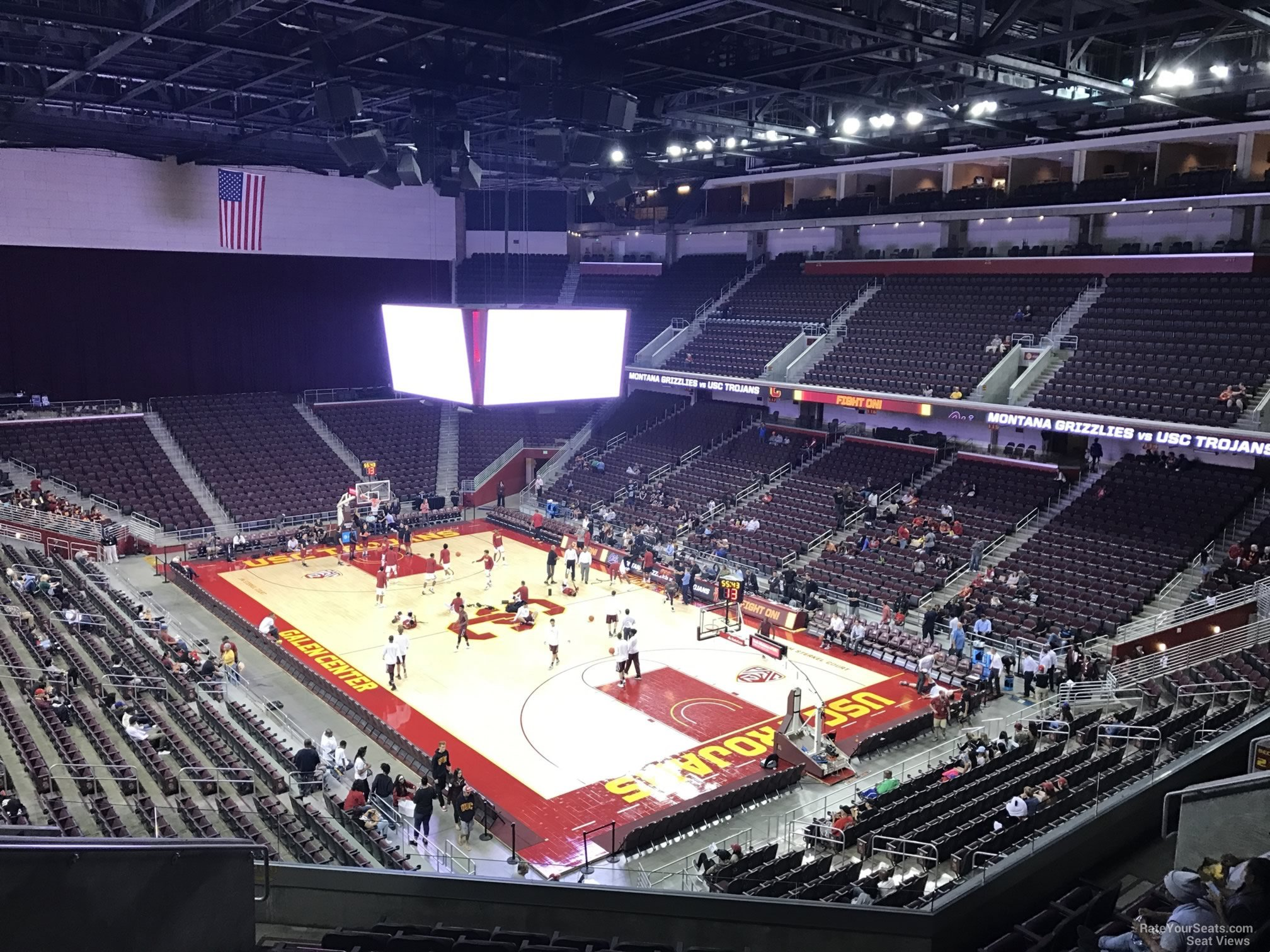 Galen Center Section 209