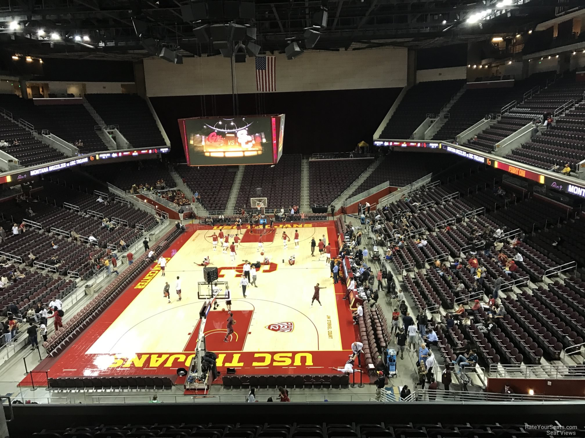 Galen Center Section 212