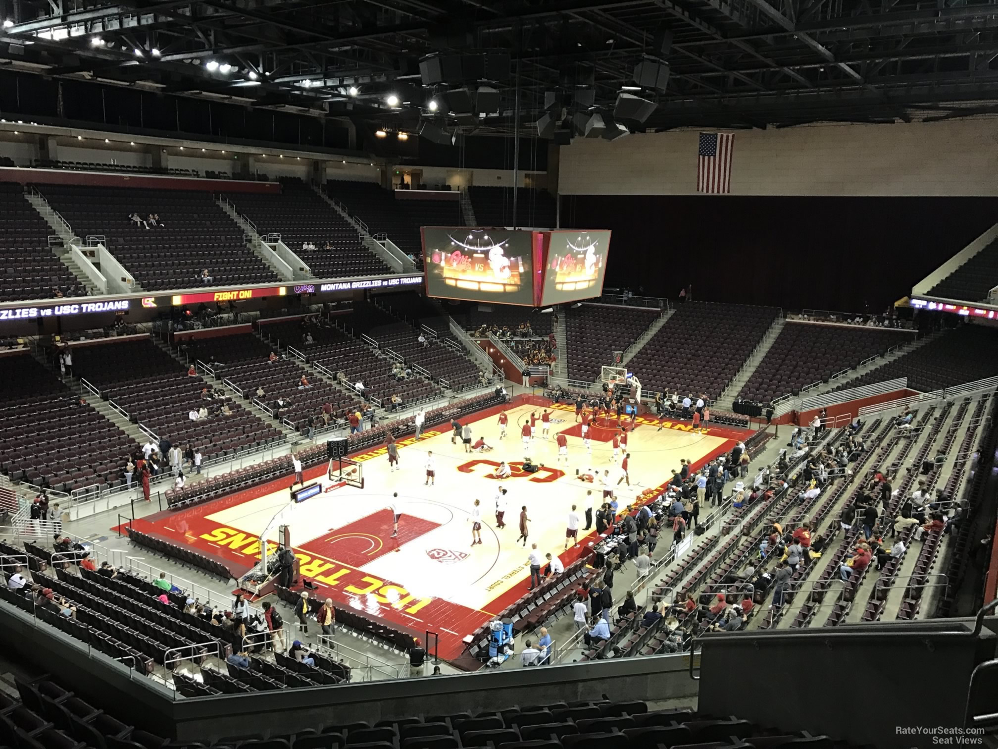 Galen Center Section 214