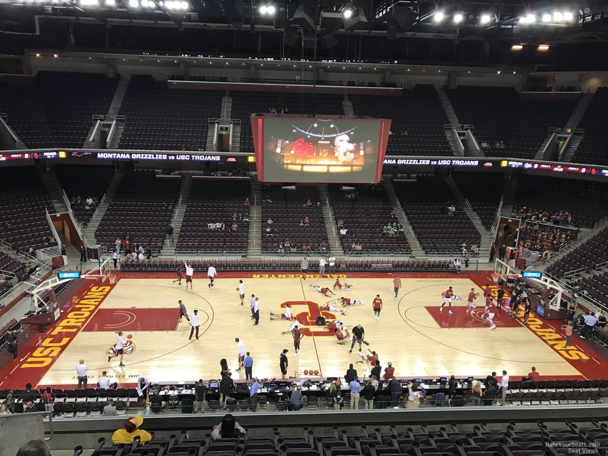 Galen Center Section 218