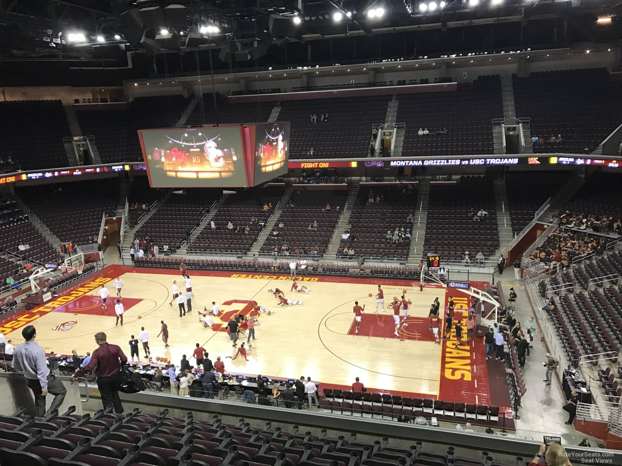 Galen Center Section 219