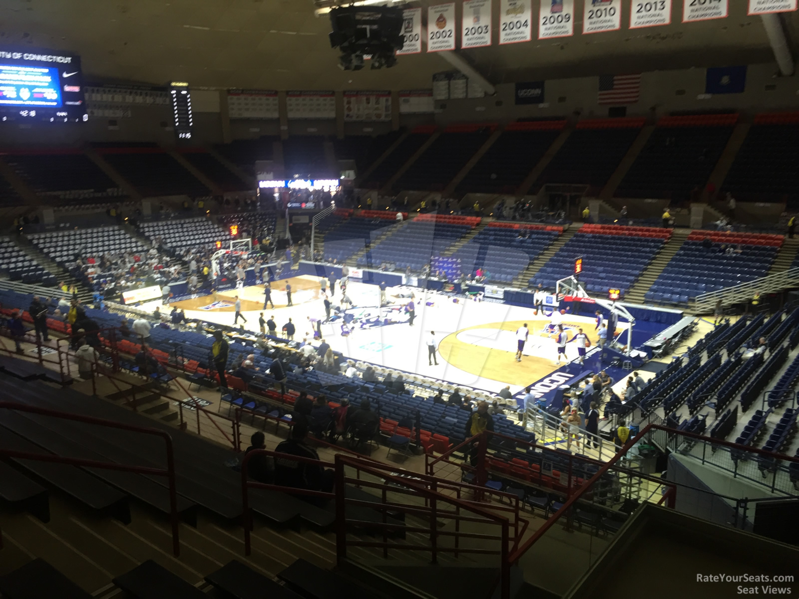 Seat View for Gampel Pavilion  Section 10, Row N