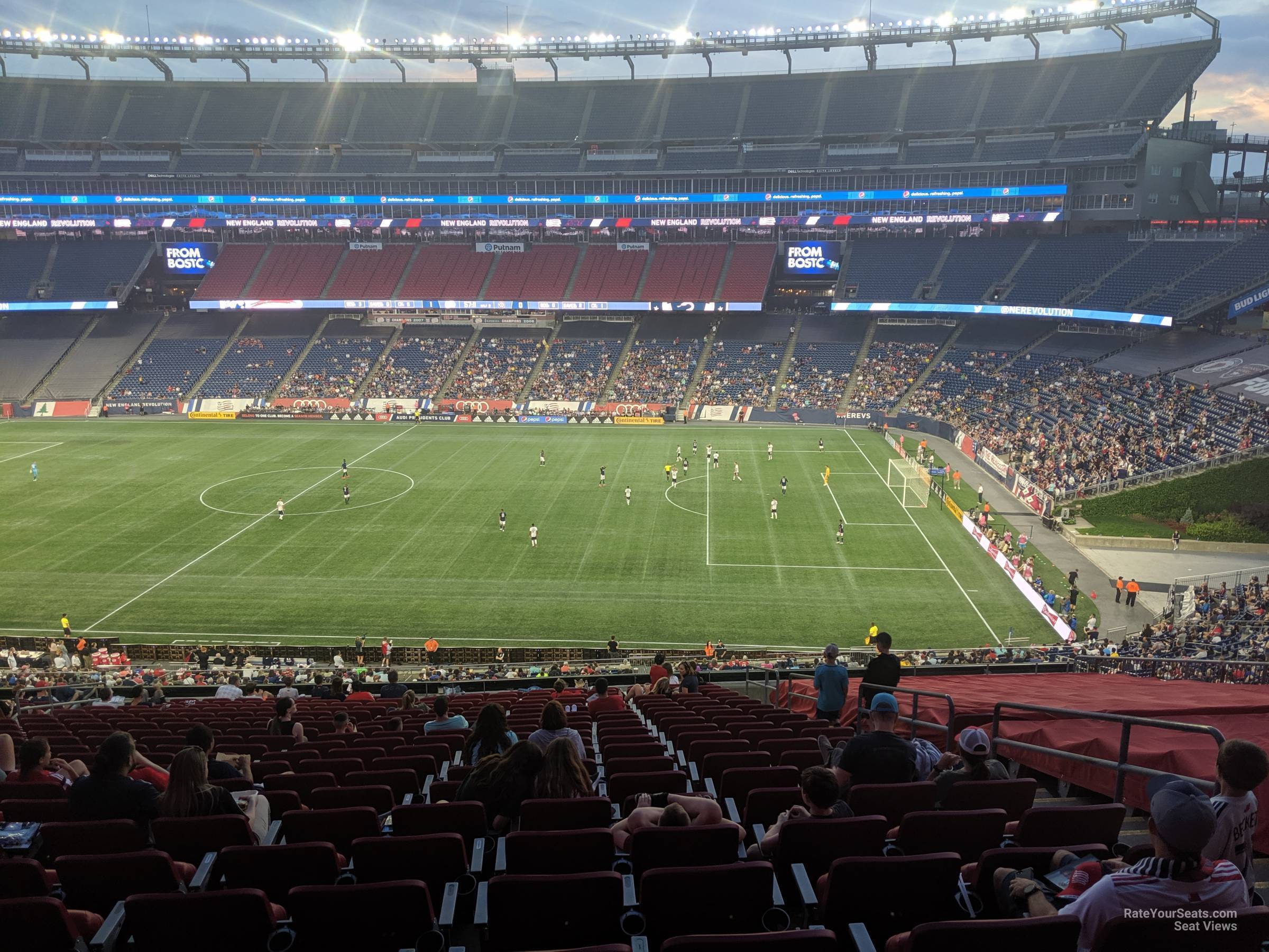 Section CL7 seat view
