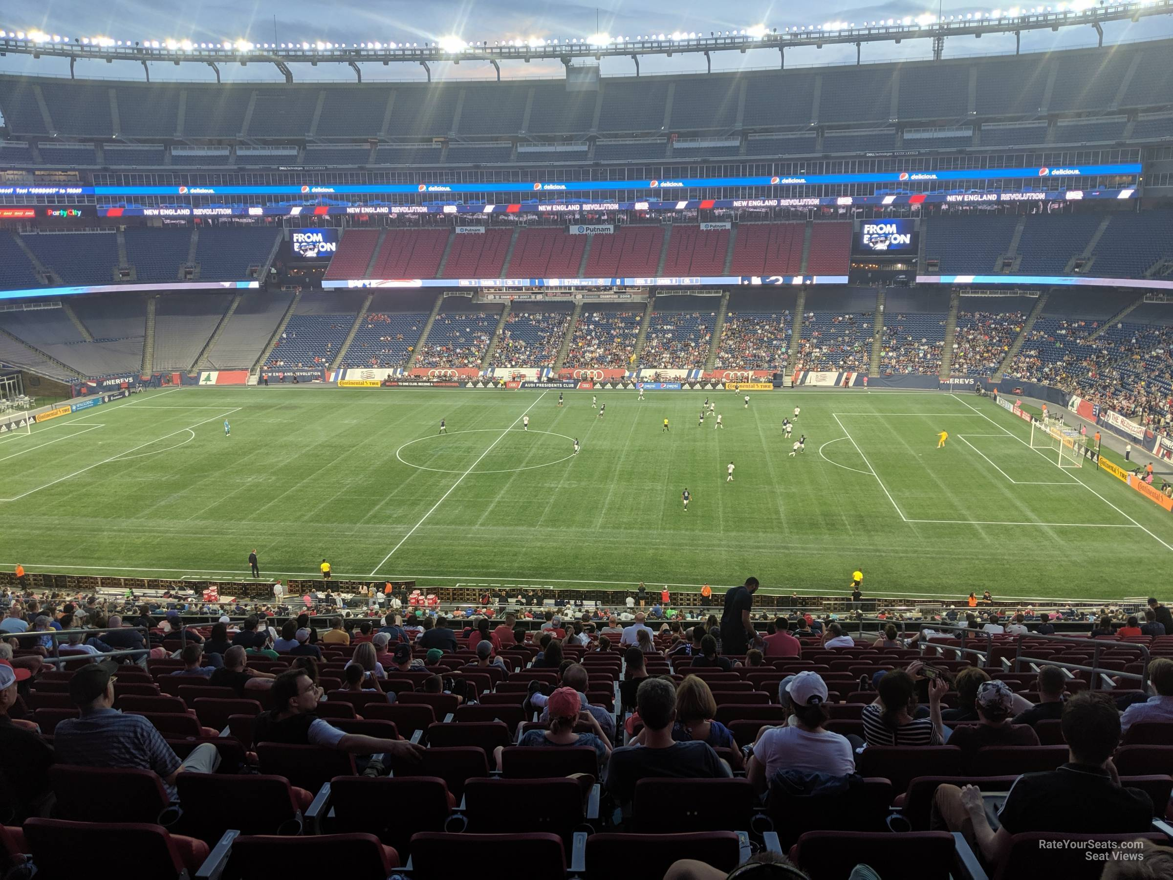 Section CL8 seat view