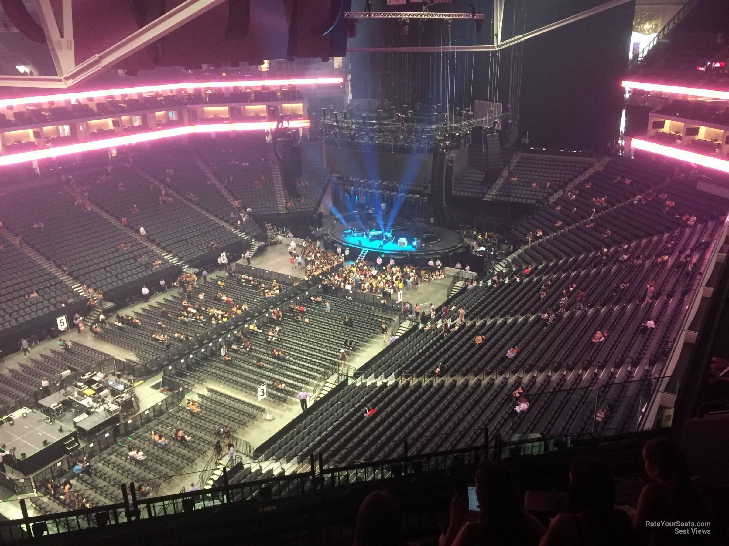 Golden 1 Center Section 208 Concert Seating