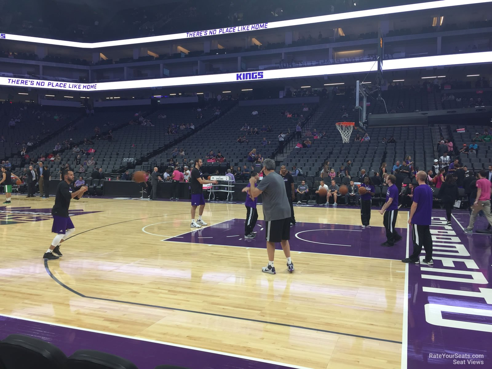 Courtside 6 seat view