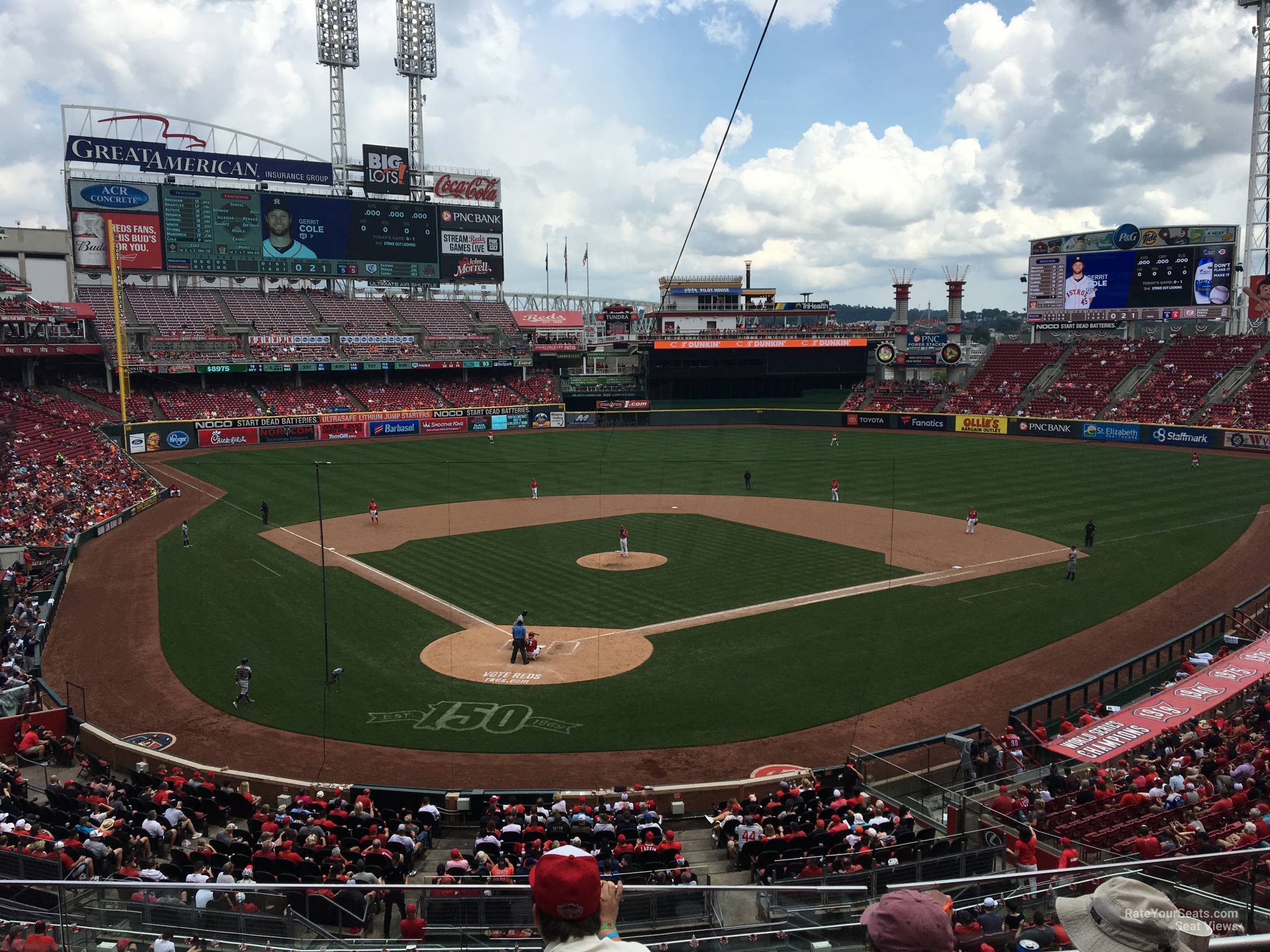 Section 225 seat view
