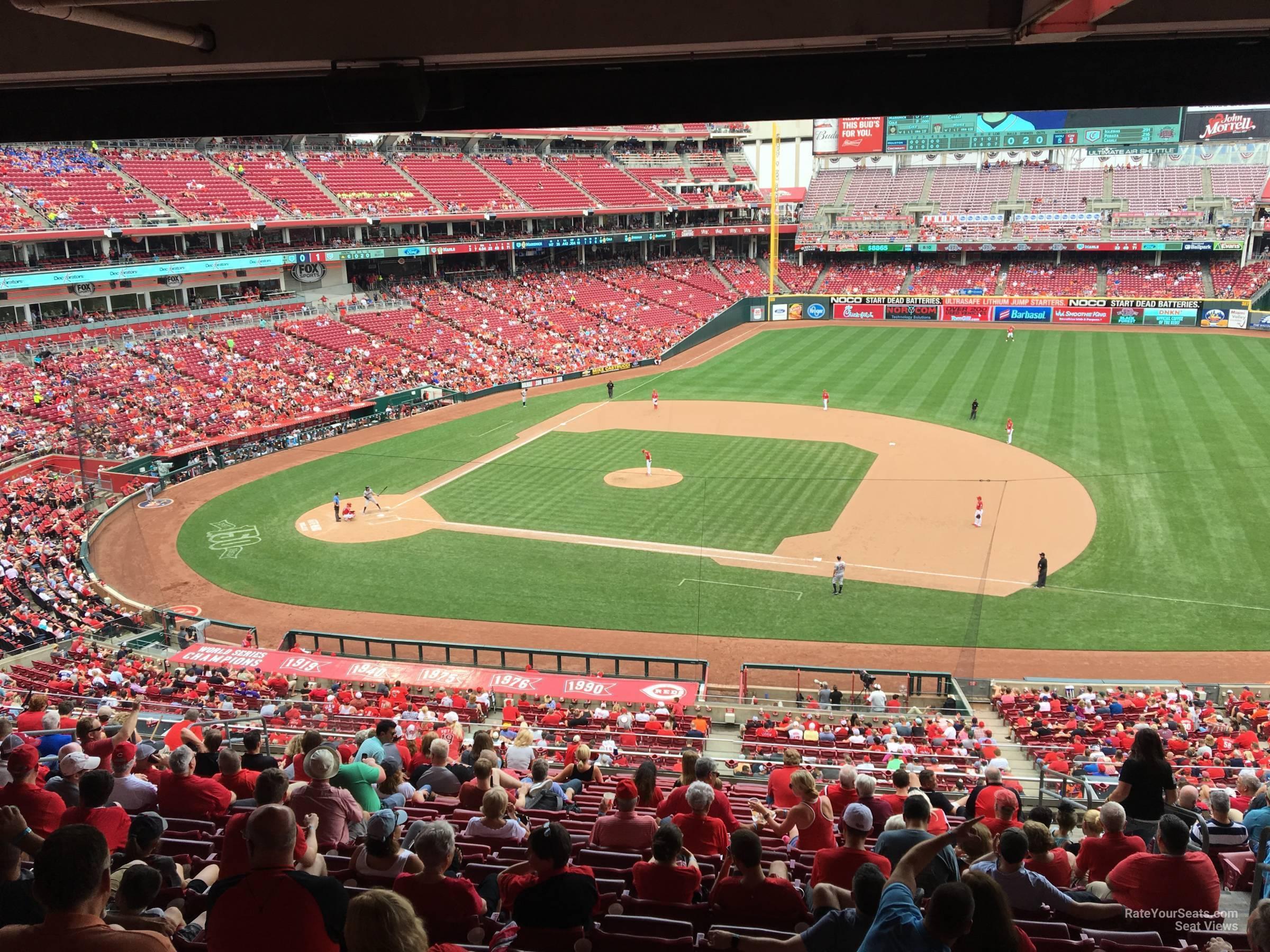 Great American Ball Park Section 303 Cincinnati Reds