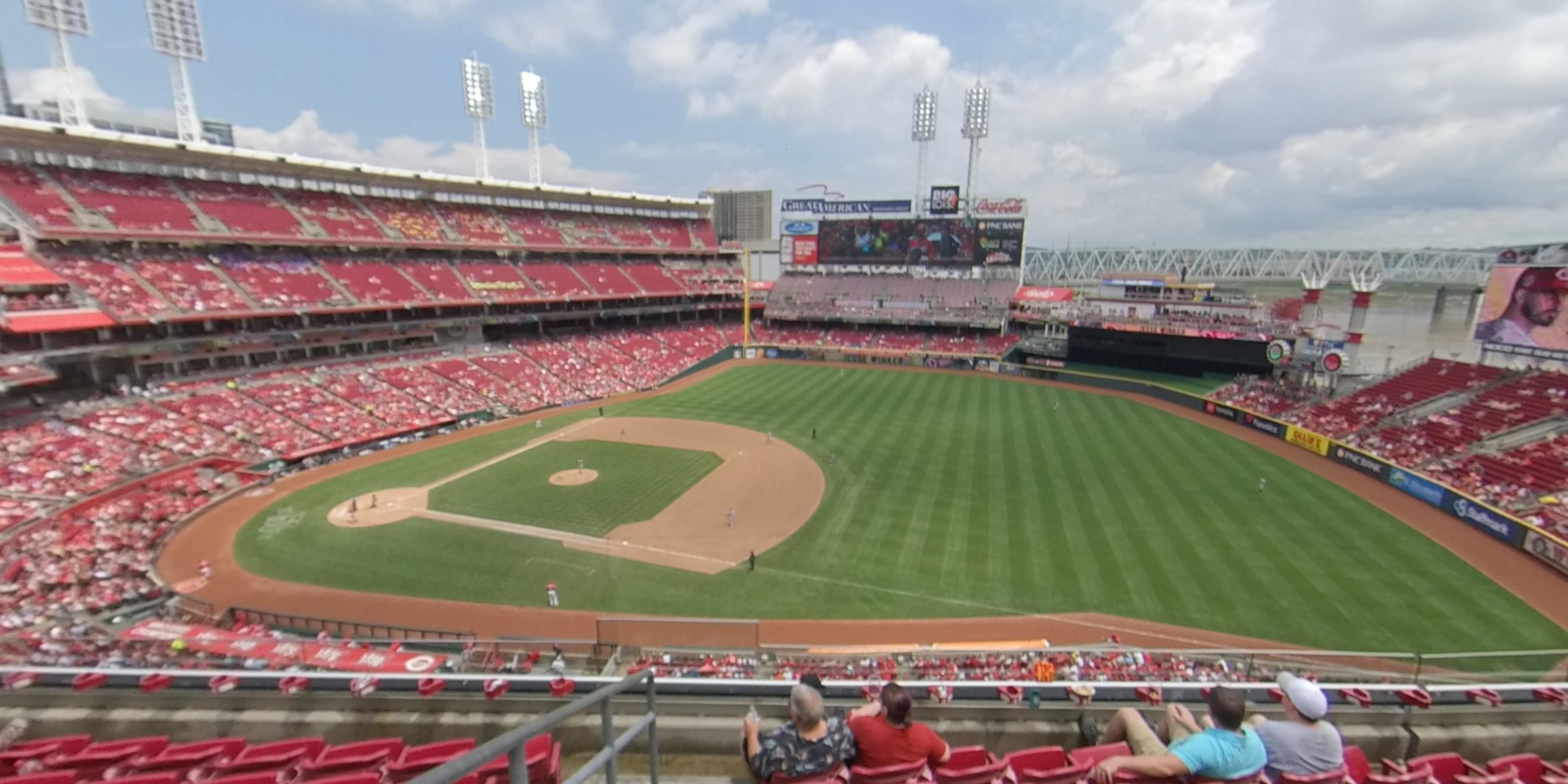 Section 433 at Great American Ball Park - Cincinnati Reds ...