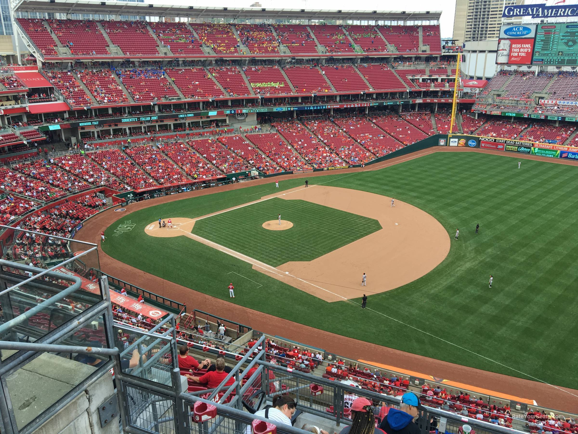 Section 534 seat view