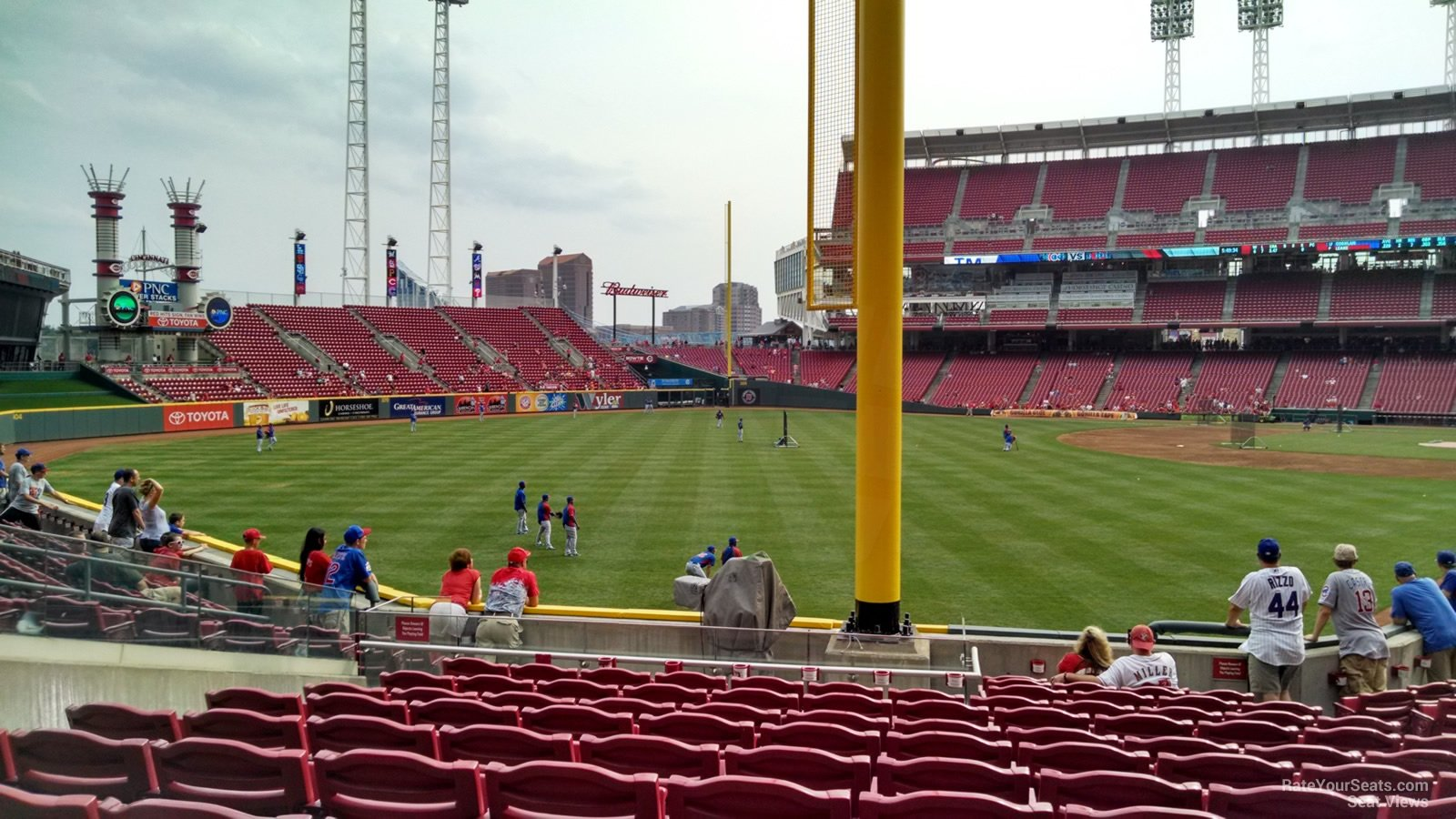 Great American Ball Park Section 107 - Cincinnati Reds
