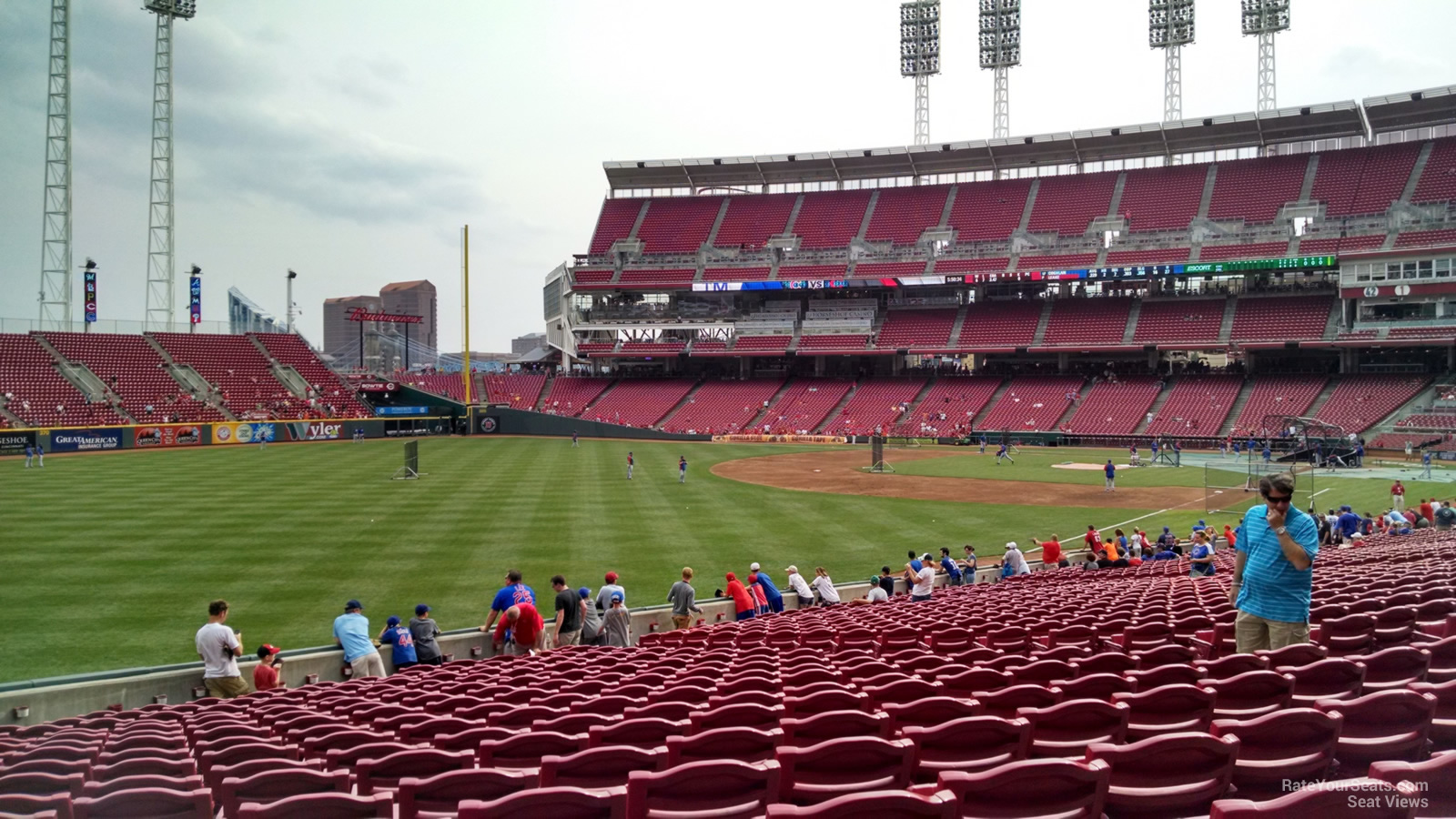 Great American Ball Park Section 109 Cincinnati Reds