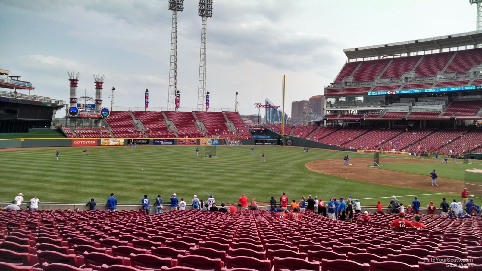 Great American Ball Park Section 111 Cincinnati Reds