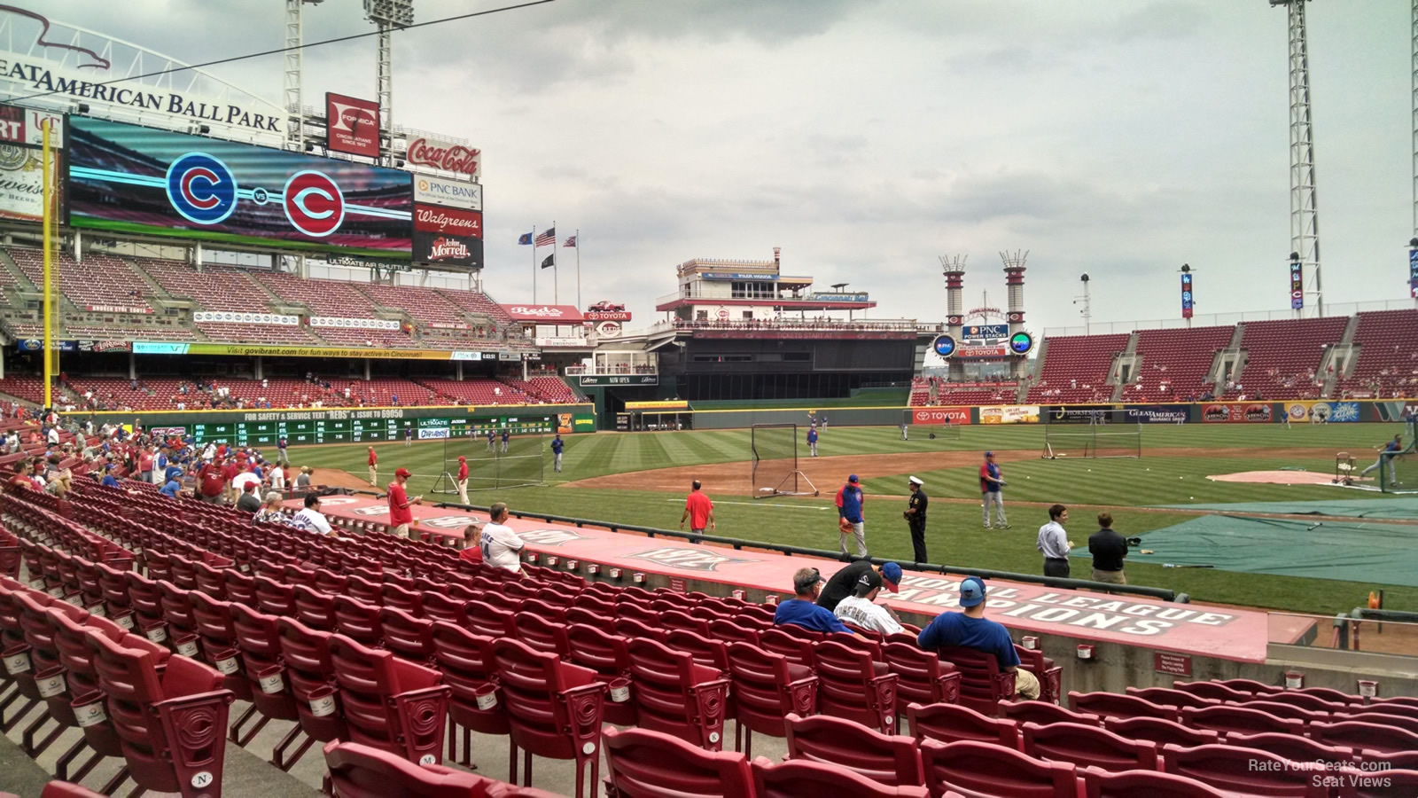 Great American Ball Park Section 119 - Cincinnati Reds