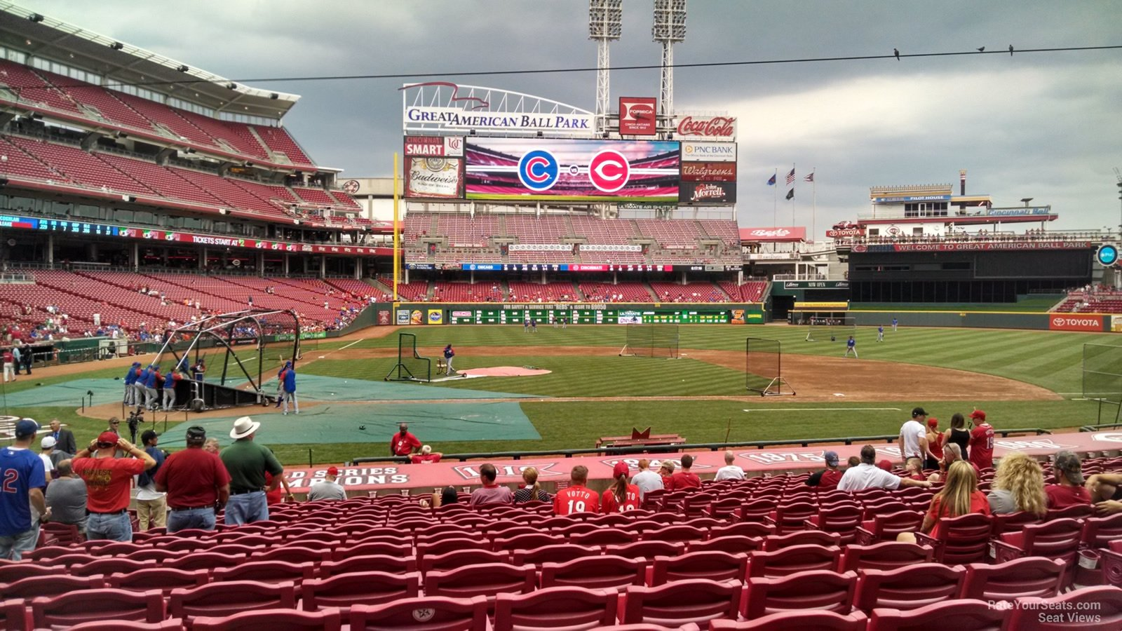 What Sections Are In The Shade At Great American Ball Park