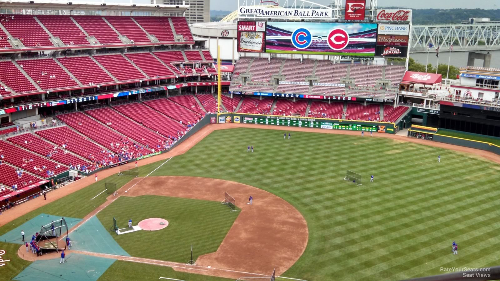 Great American Ball Park Section 531 Cincinnati Reds
