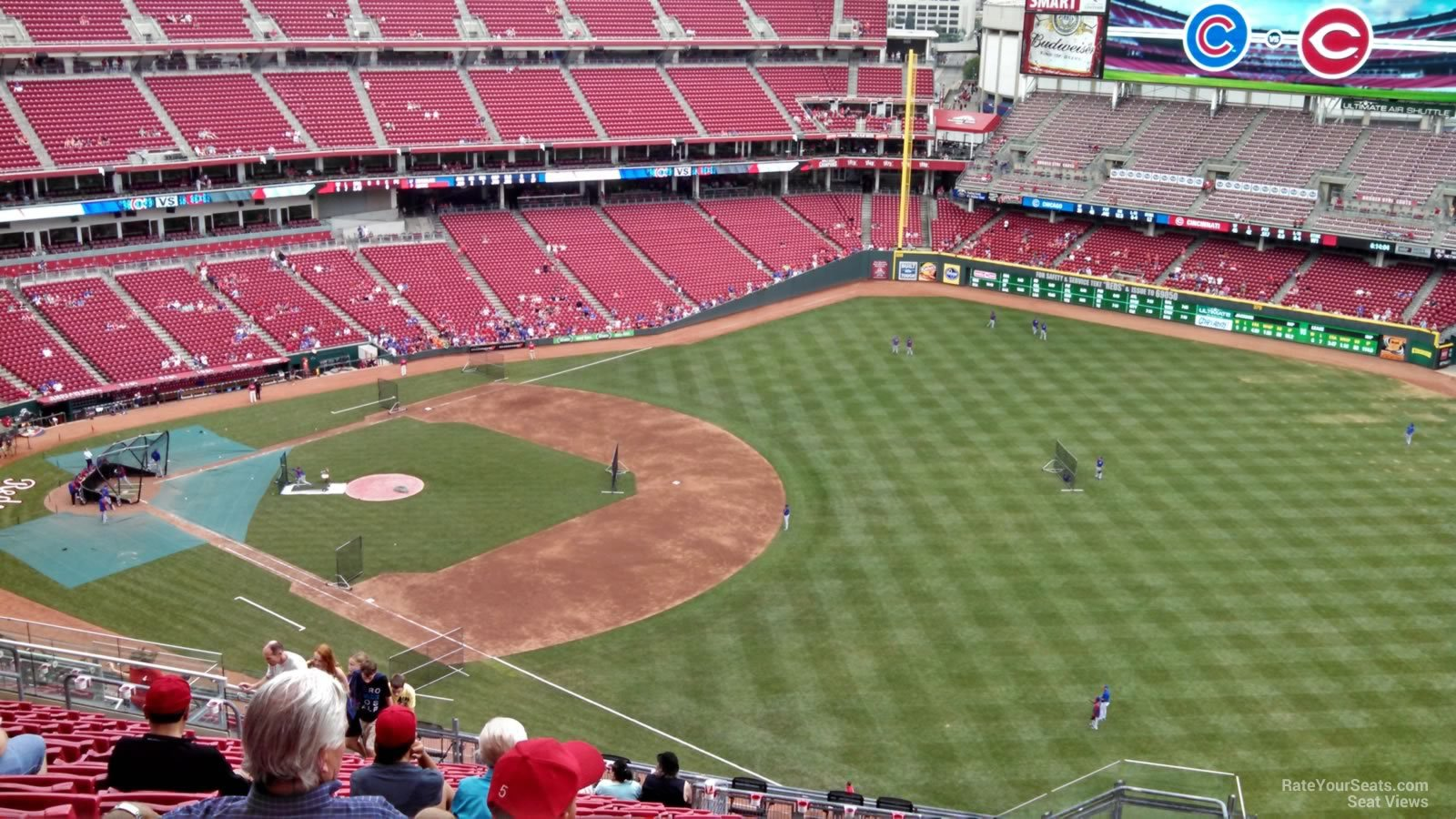 Great American Ball Park Section 535 Cincinnati Reds