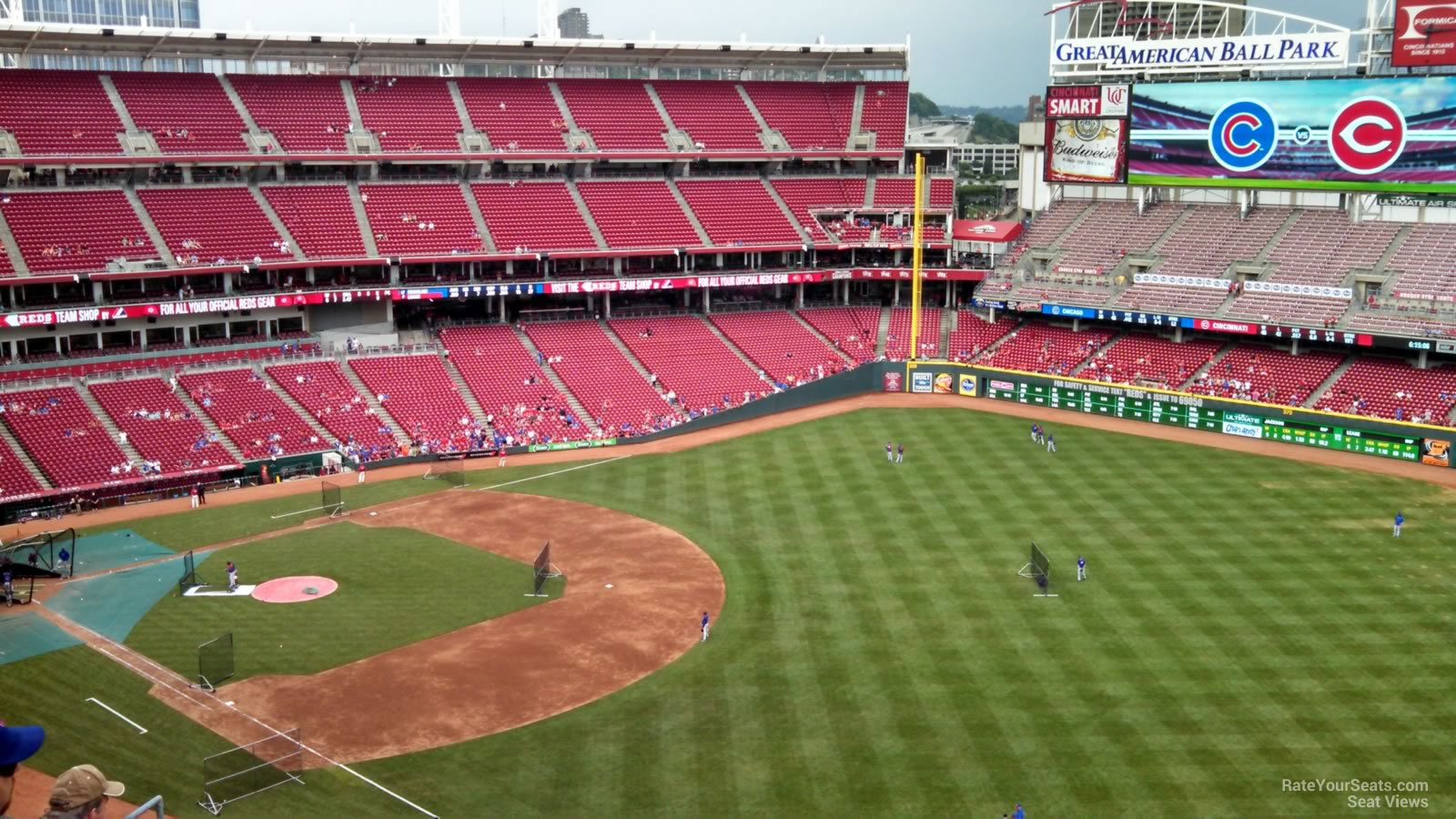 Great American Ball Park Section 536 Cincinnati Reds