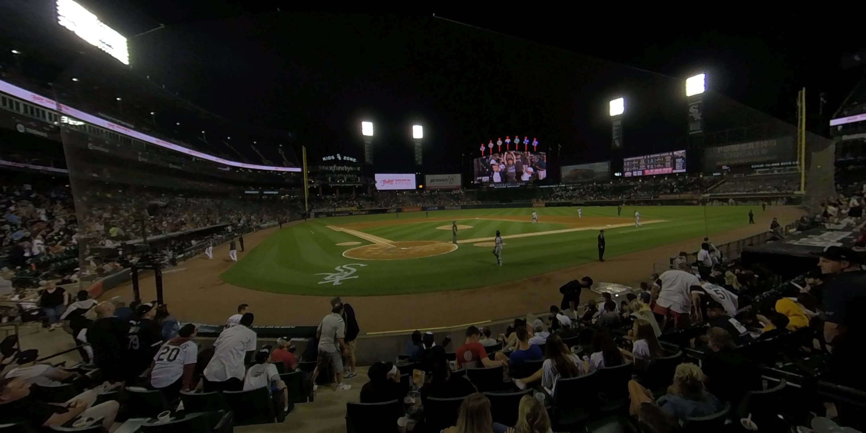 360° Photo From Guaranteed Rate Field Scout Seats 130