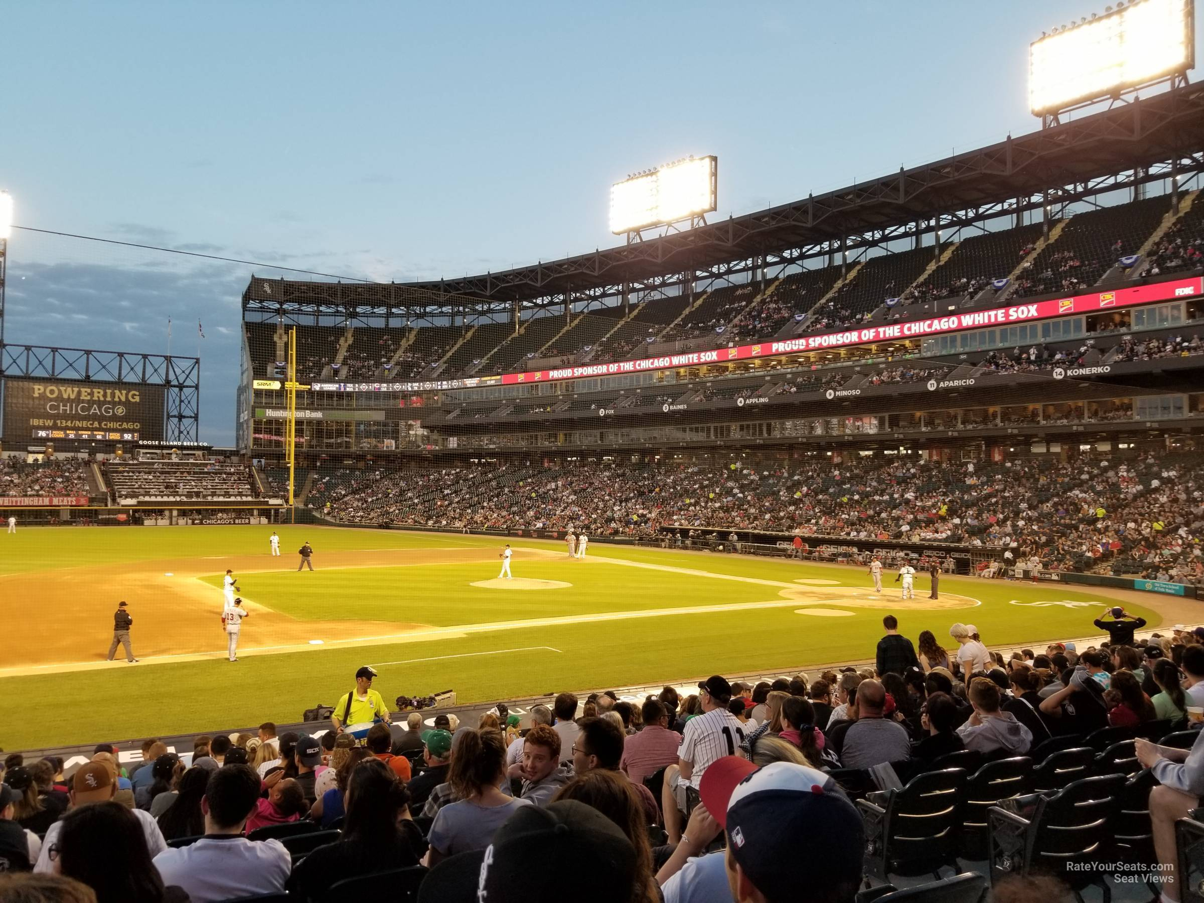 Section 142 seat view