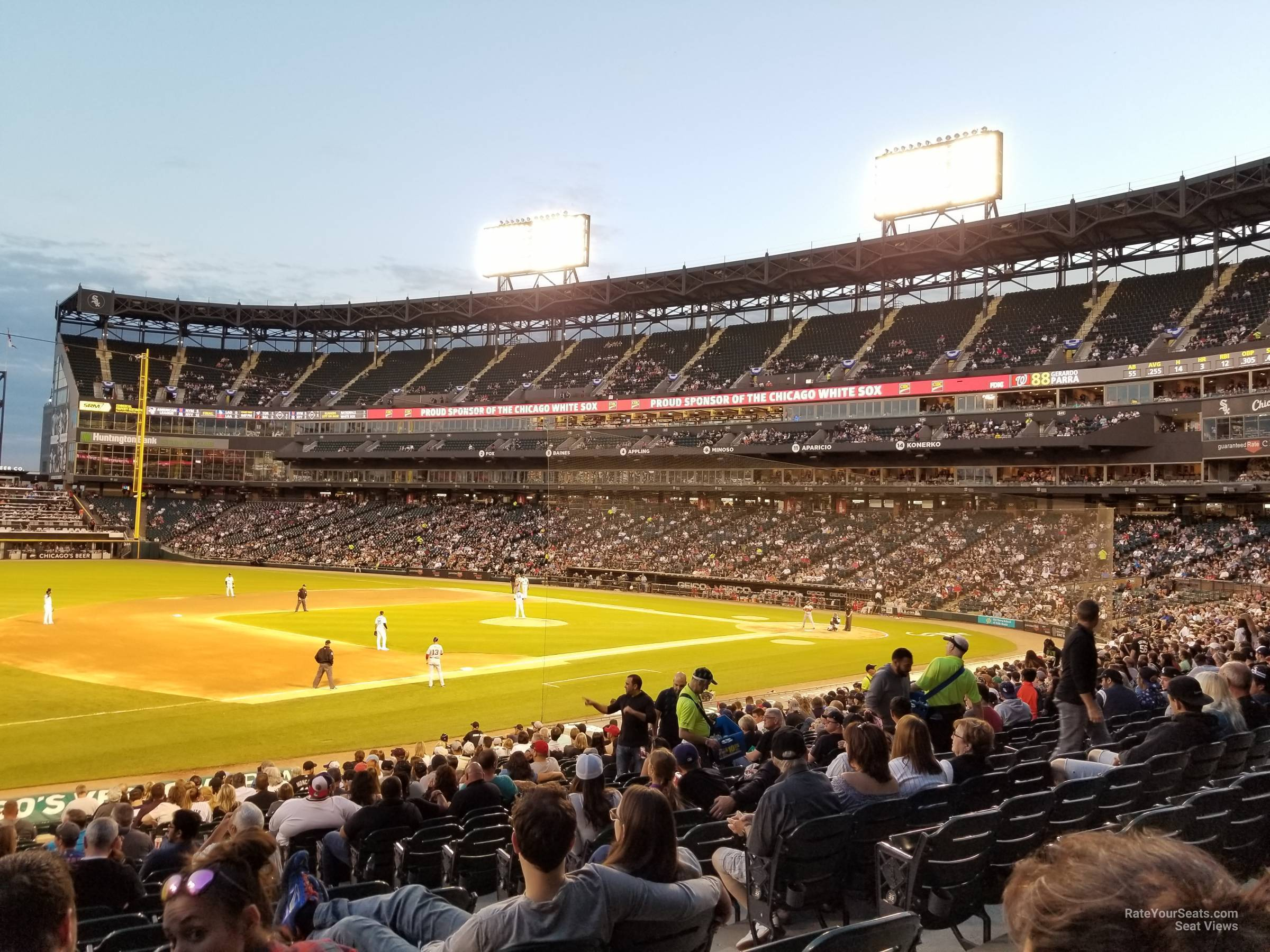 Section 145 seat view
