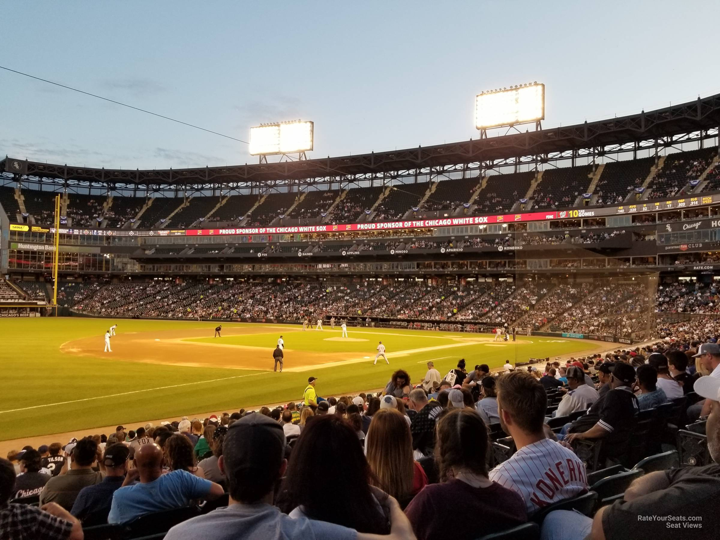 Section 147 seat view