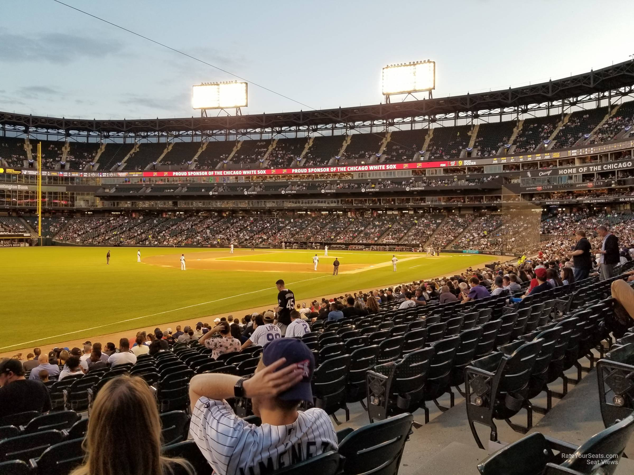 Section 151 seat view