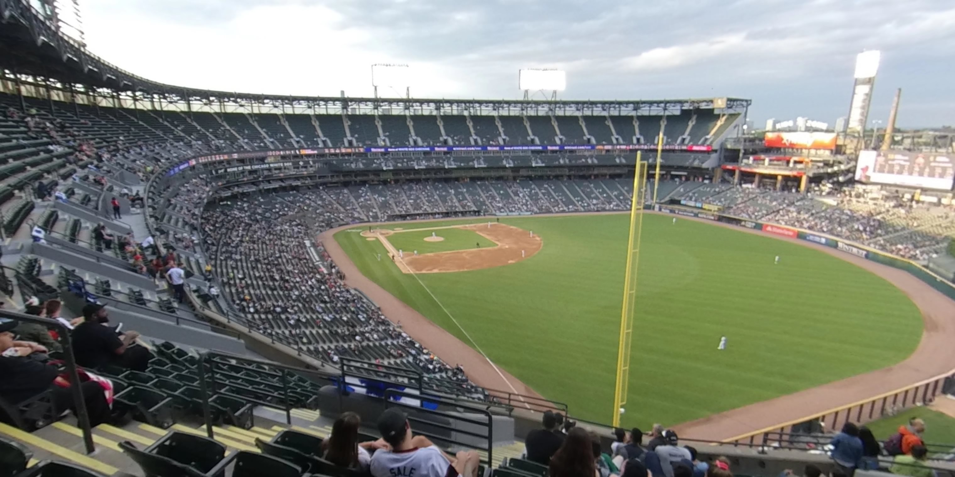 360° Photo From Guaranteed Rate Field Section 508